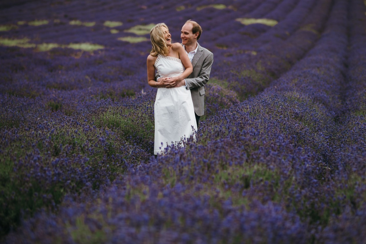 Lara & Alex | Hitchin Lavender