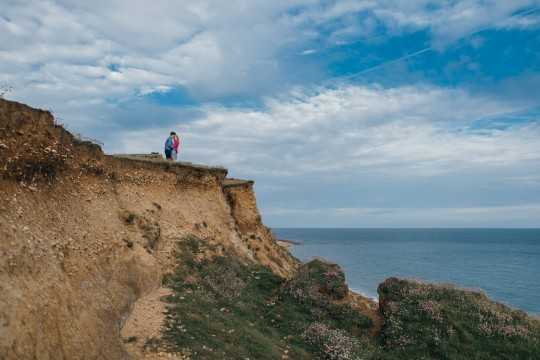 Georgie and Scott, Jurassic Coast