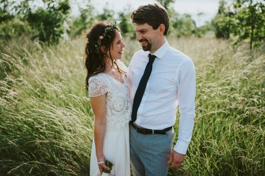 Lizzie & Eddy | Temple Minerva & Farm Camp, Winsley