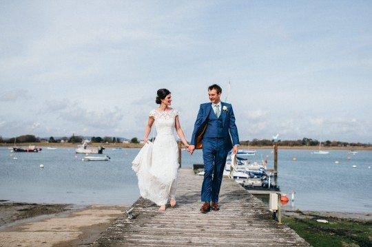Sarah & Neil, Itchenor Sailing Club