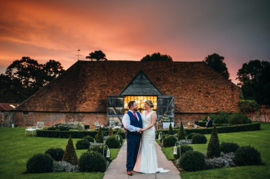 Helen and Andy, Ufton Court