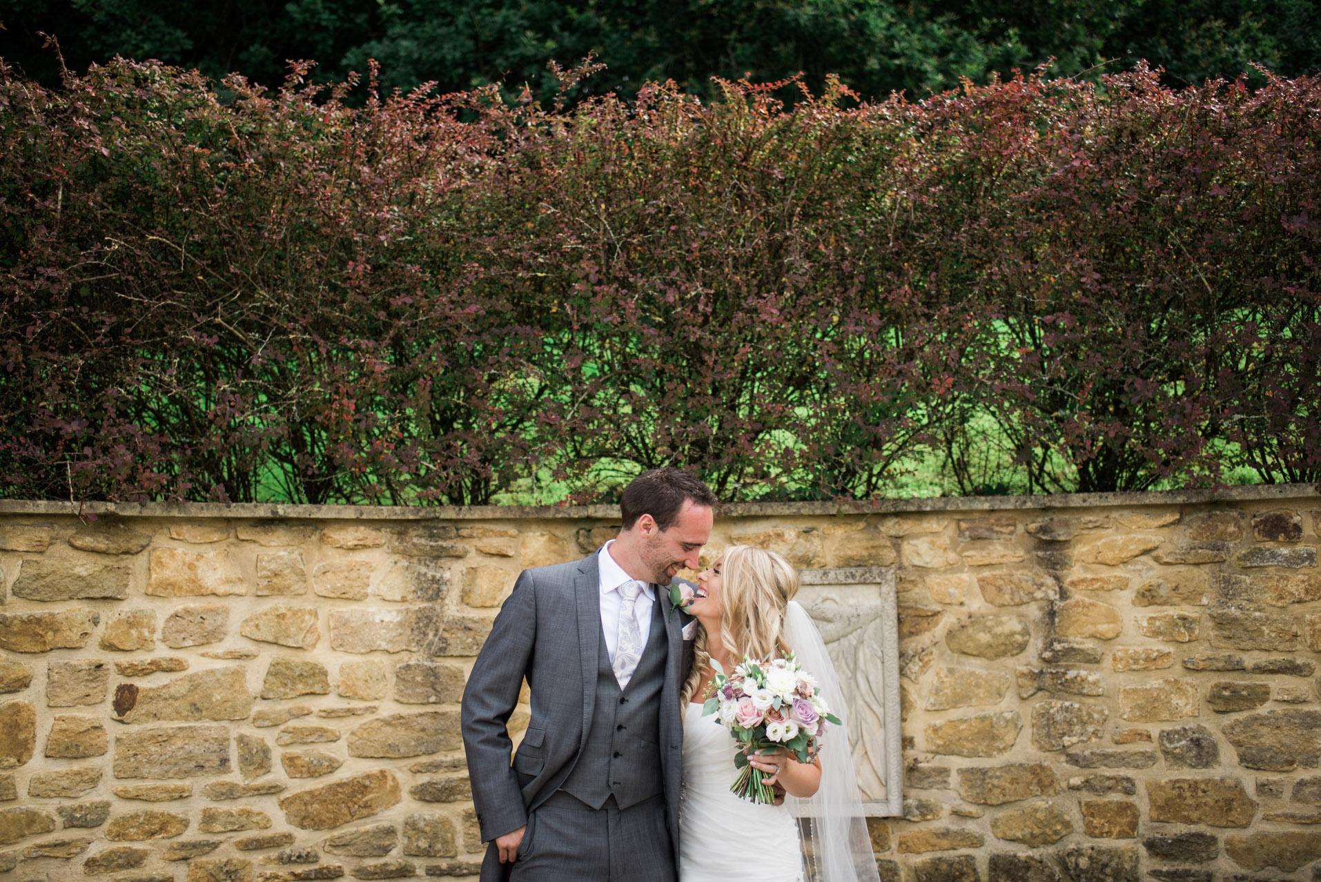 Bride and Groom Dillington House Wedding