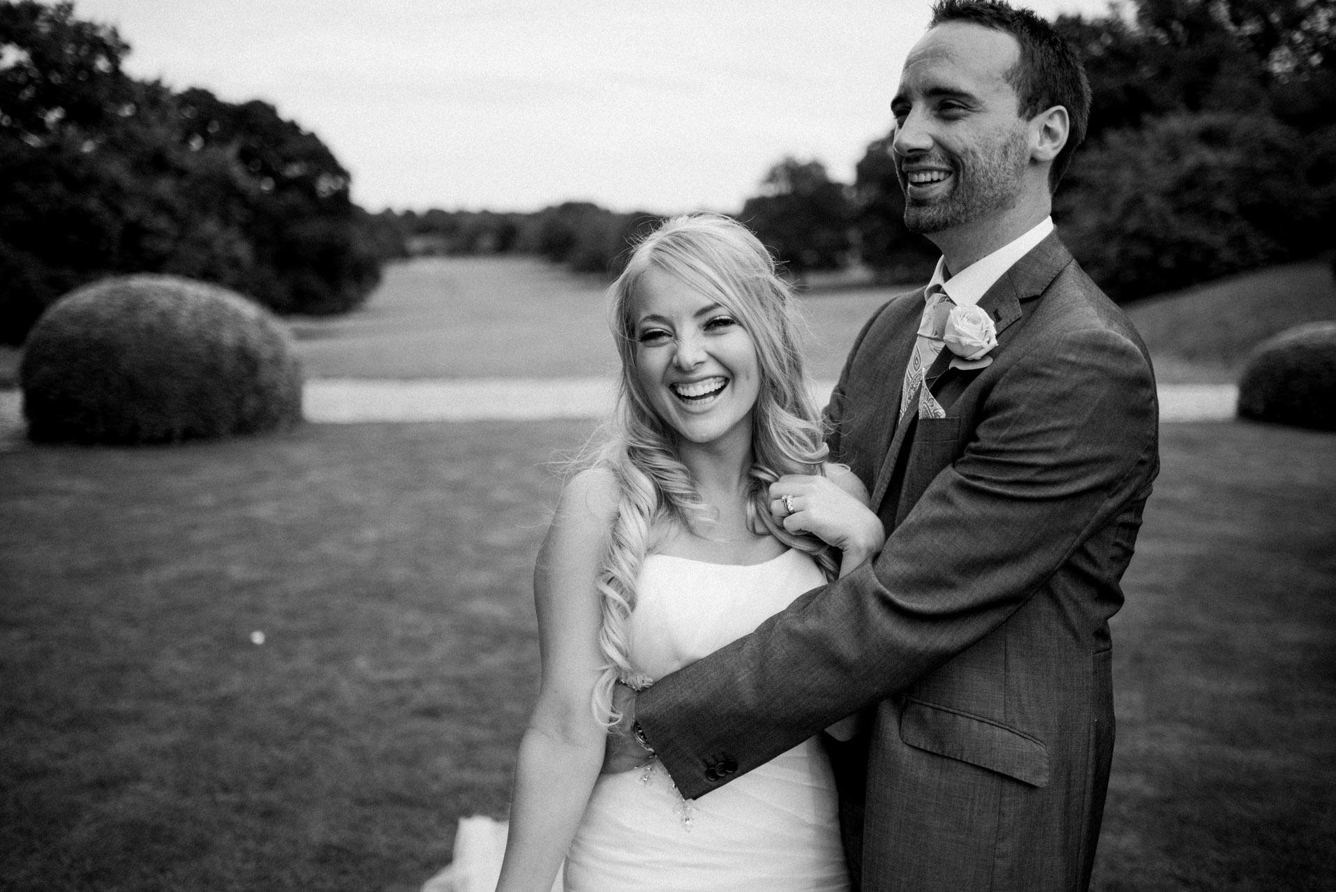 Newlyweds Dillington House Wedding