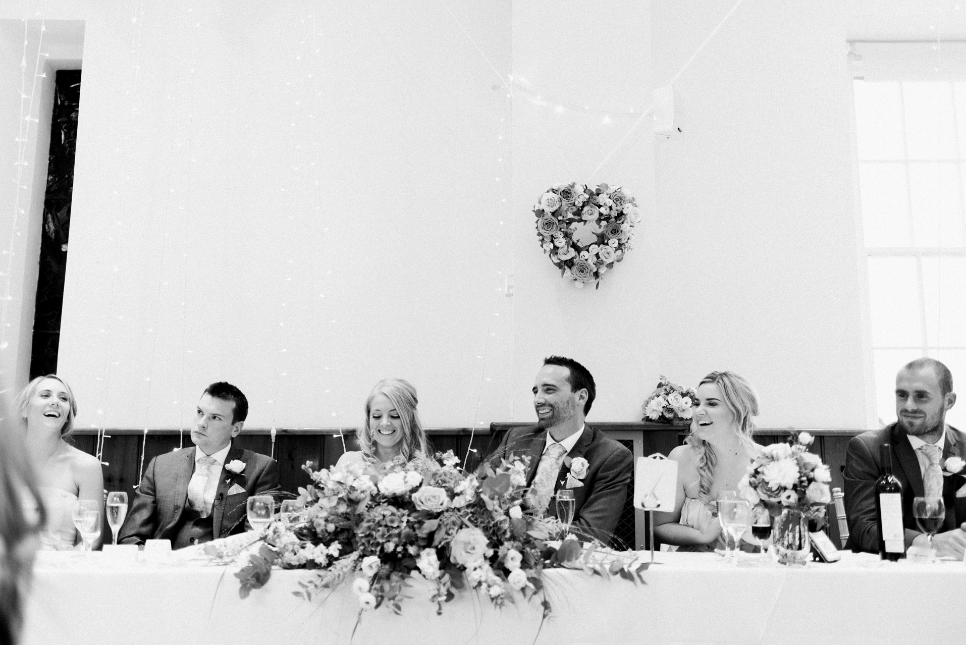 Wedding speeches at Dillington House