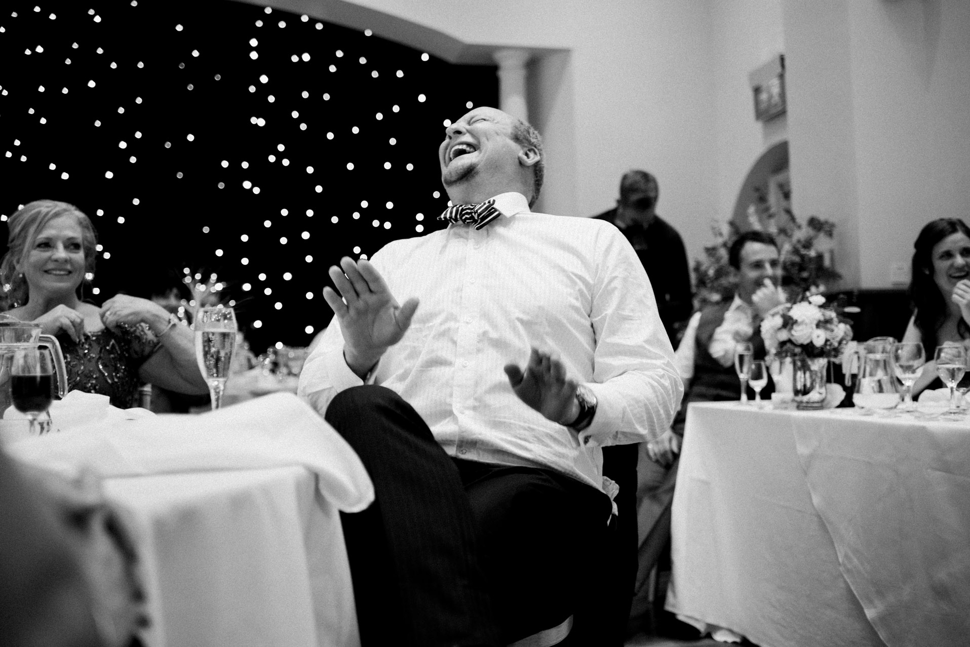 Wedding speech at Dillington House