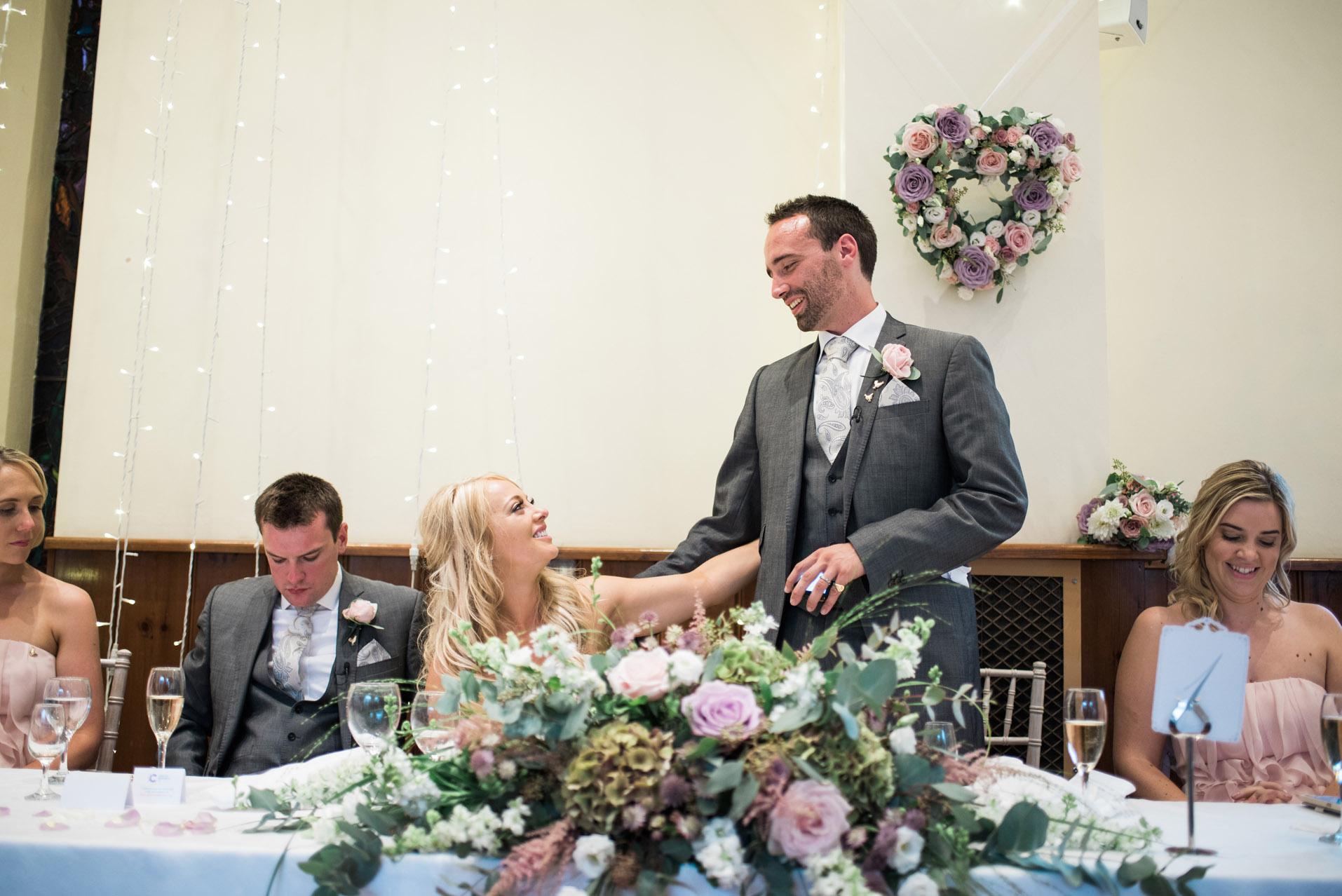 Dillington House Wedding speech