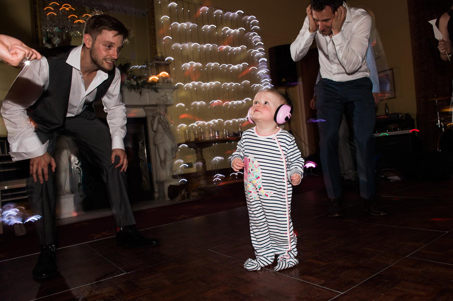 Kid dances at Dillington House