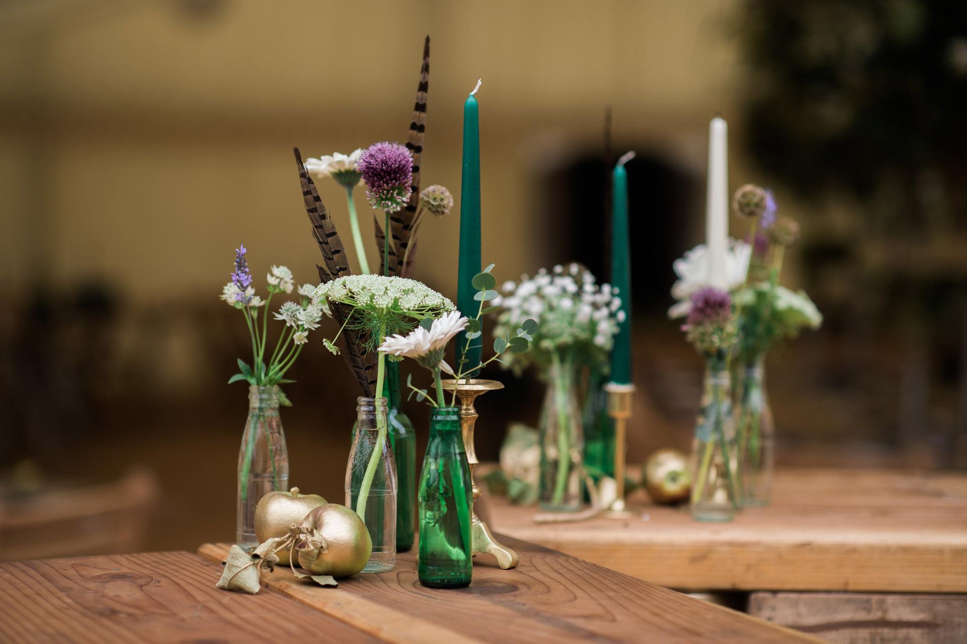 Marquee wedding photography