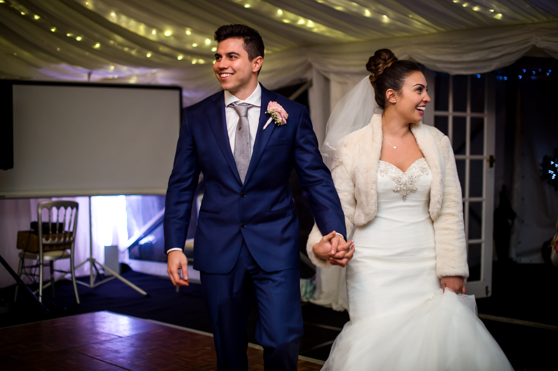 Isle of Wight marquee wedding