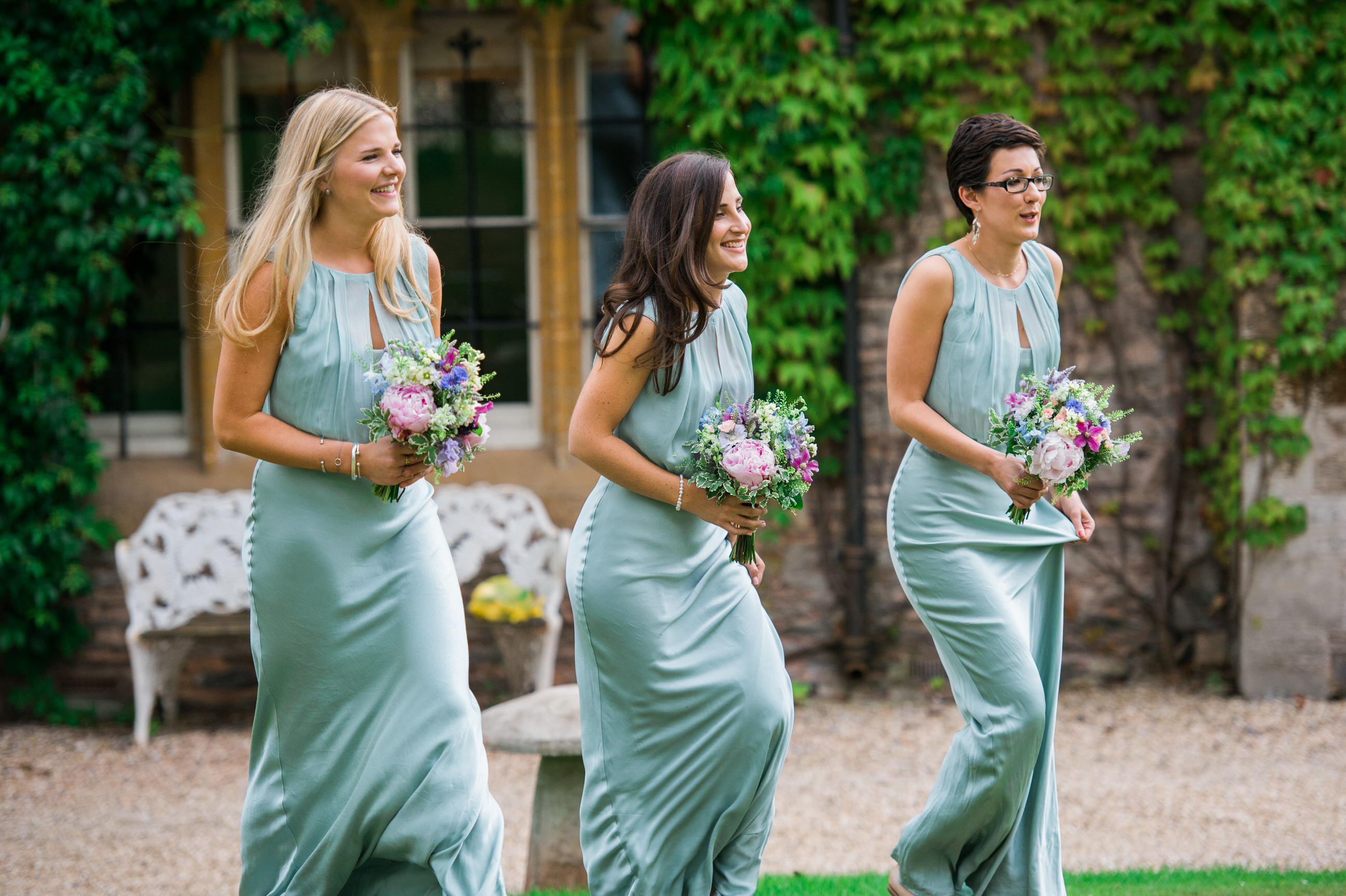 Maunsel House bridesmaids