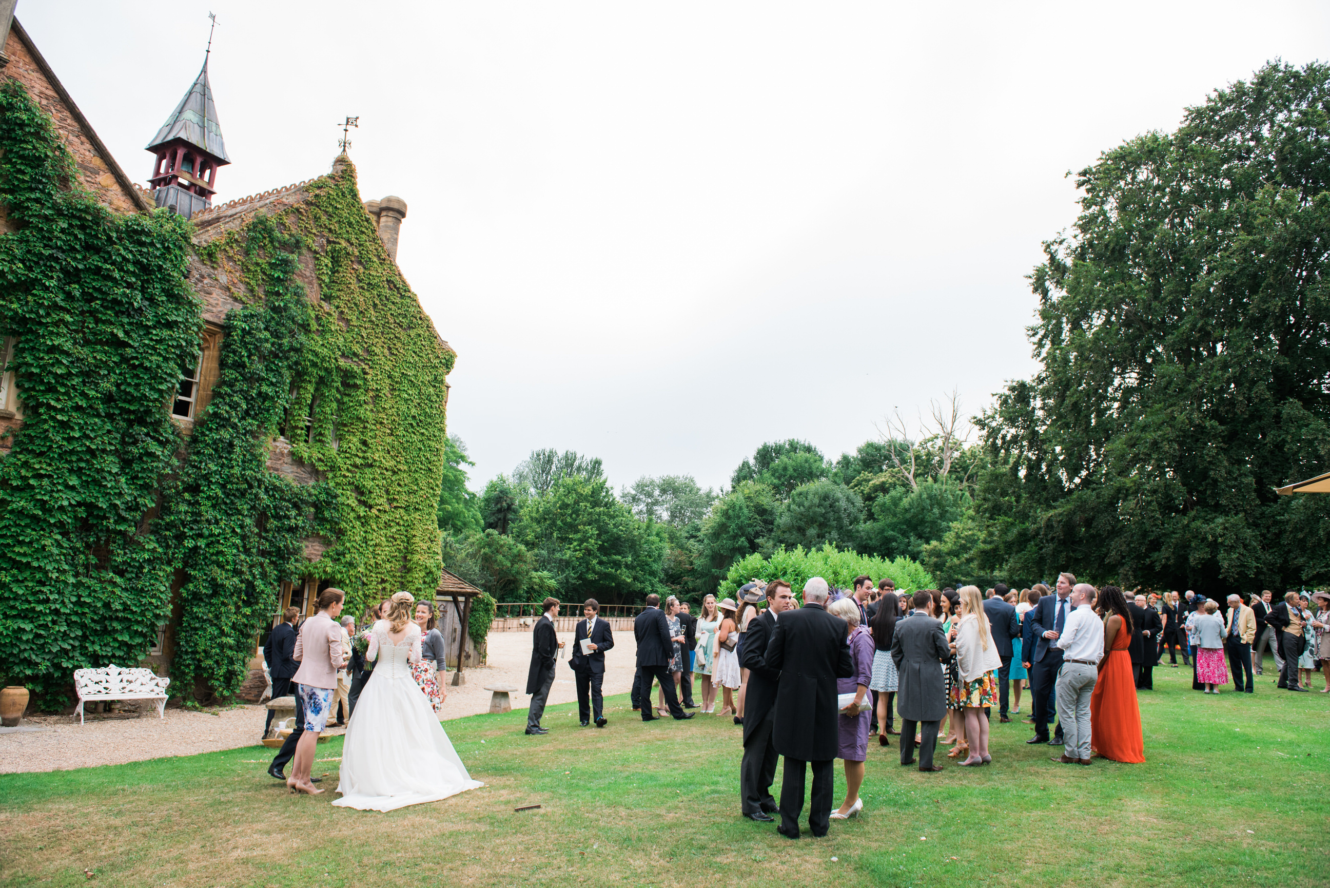 Maunsel House wedding reception