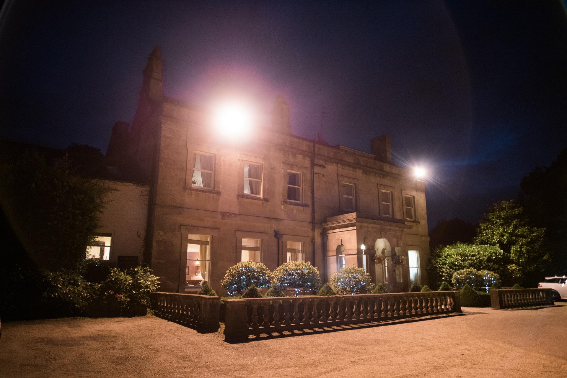 Charlton House wedding night