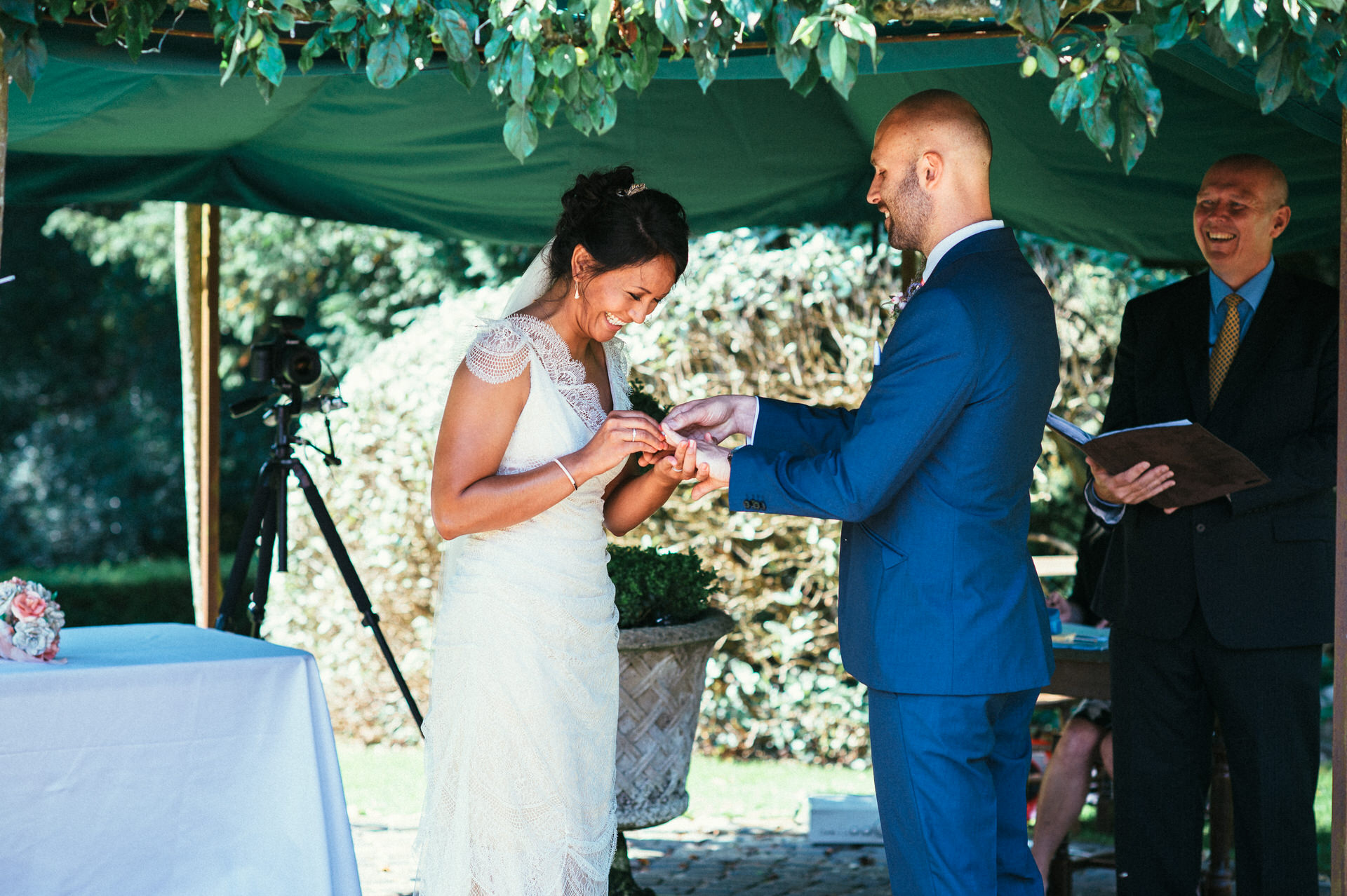 Yarlington house wedding photography 13