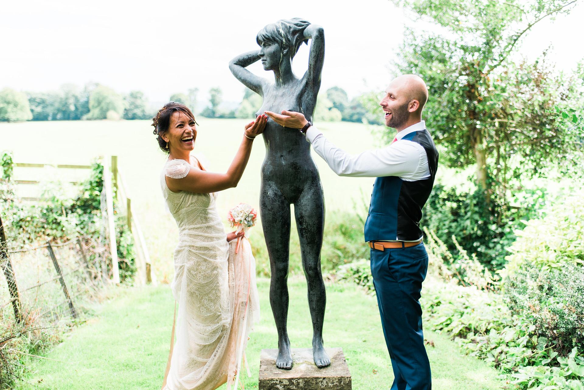 Yarlington house wedding photography 32
