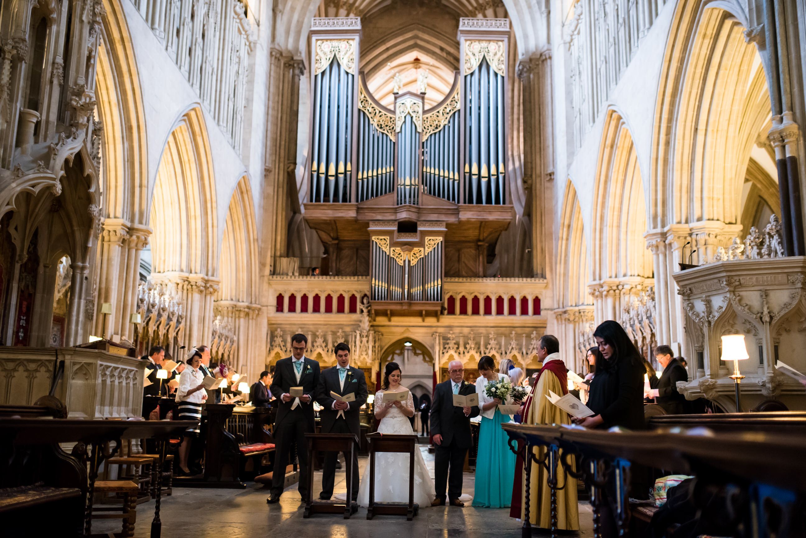 Wells Cathedral wedding photographer