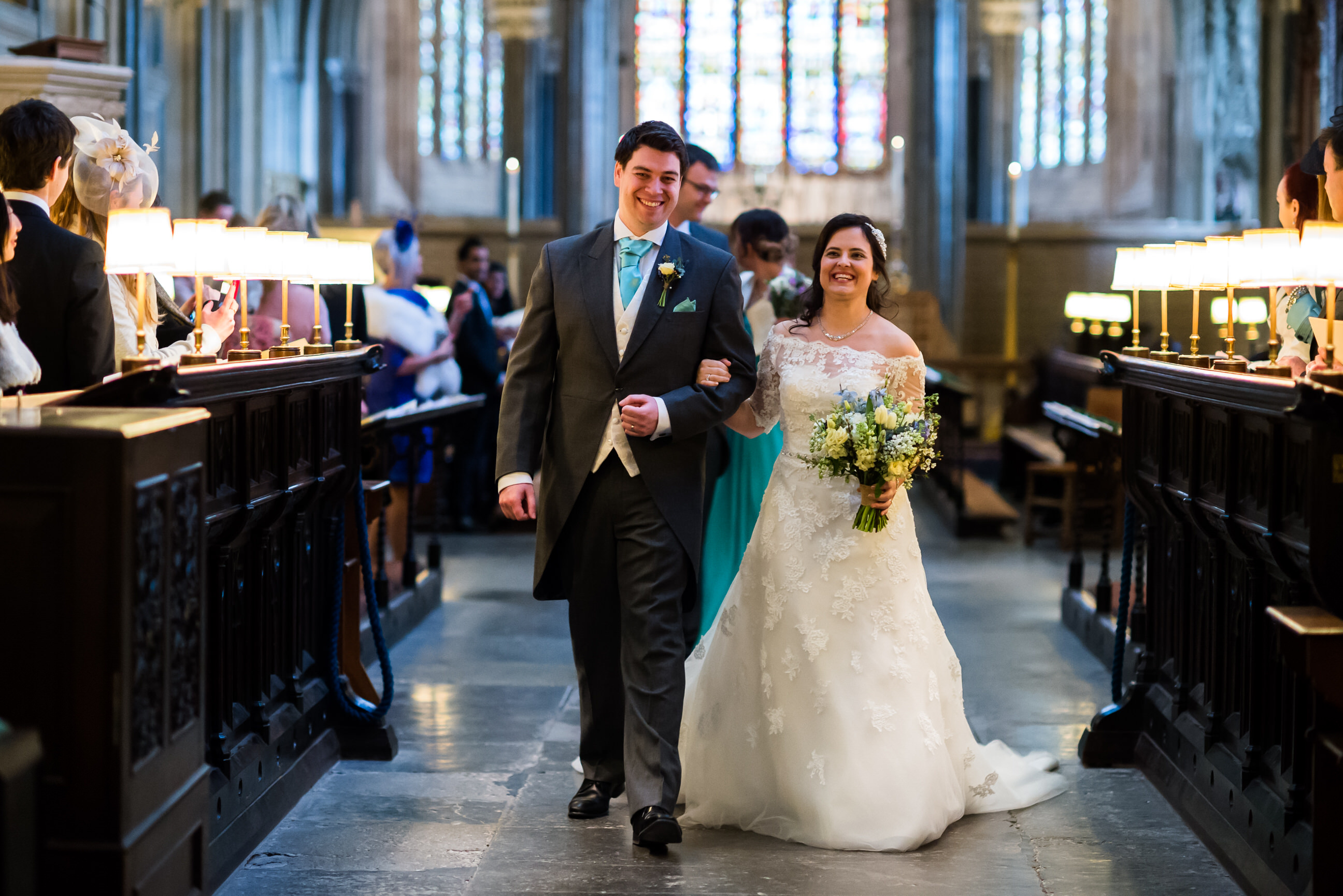 Wedding photography Wells Cathedral