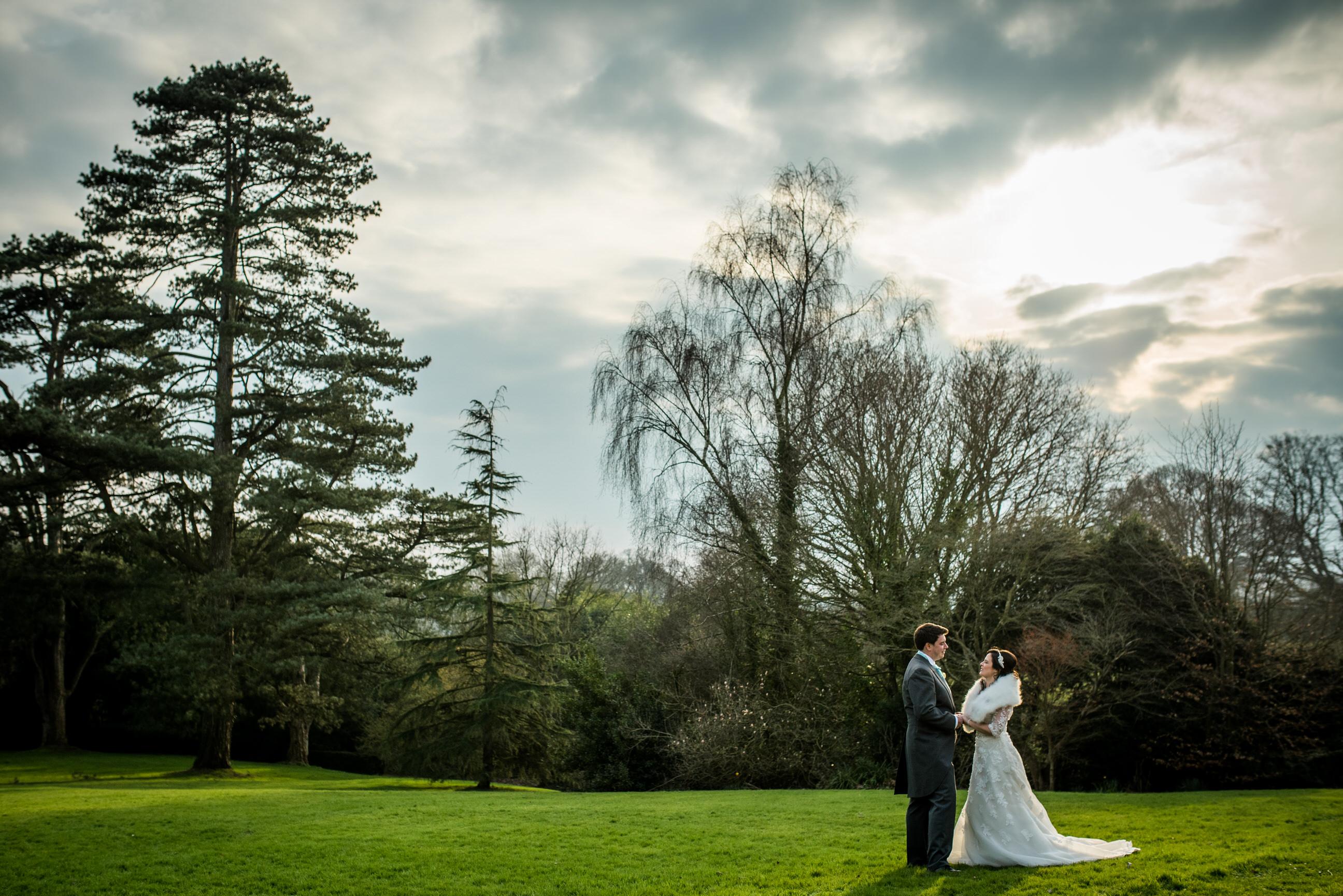 Winter wedding at Pennard House