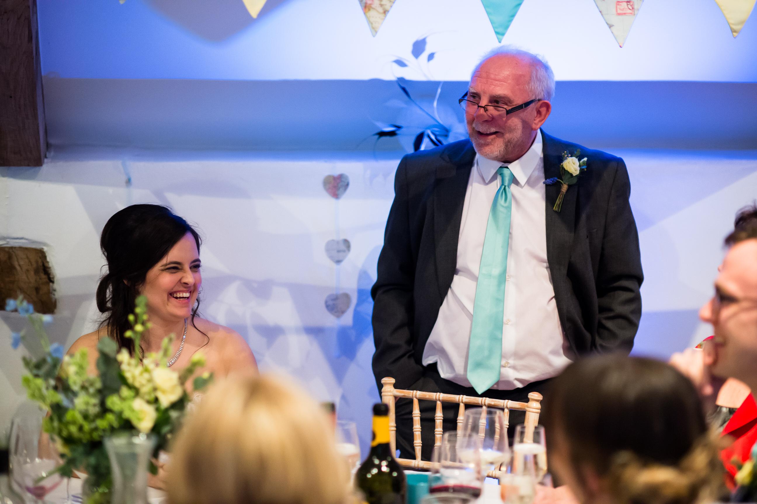 Wedding speeches Pennard House