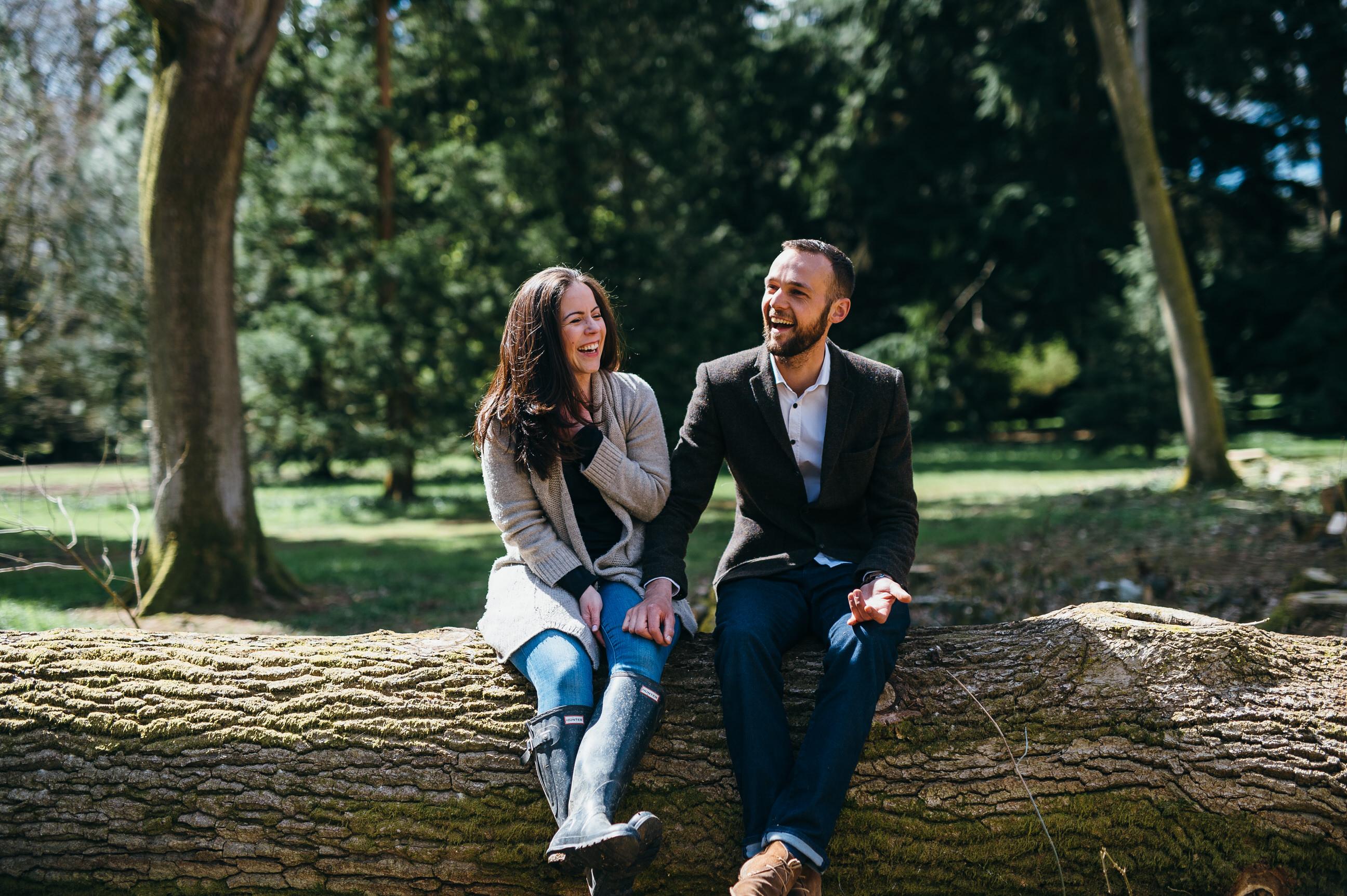 Engagement photographer Somerset