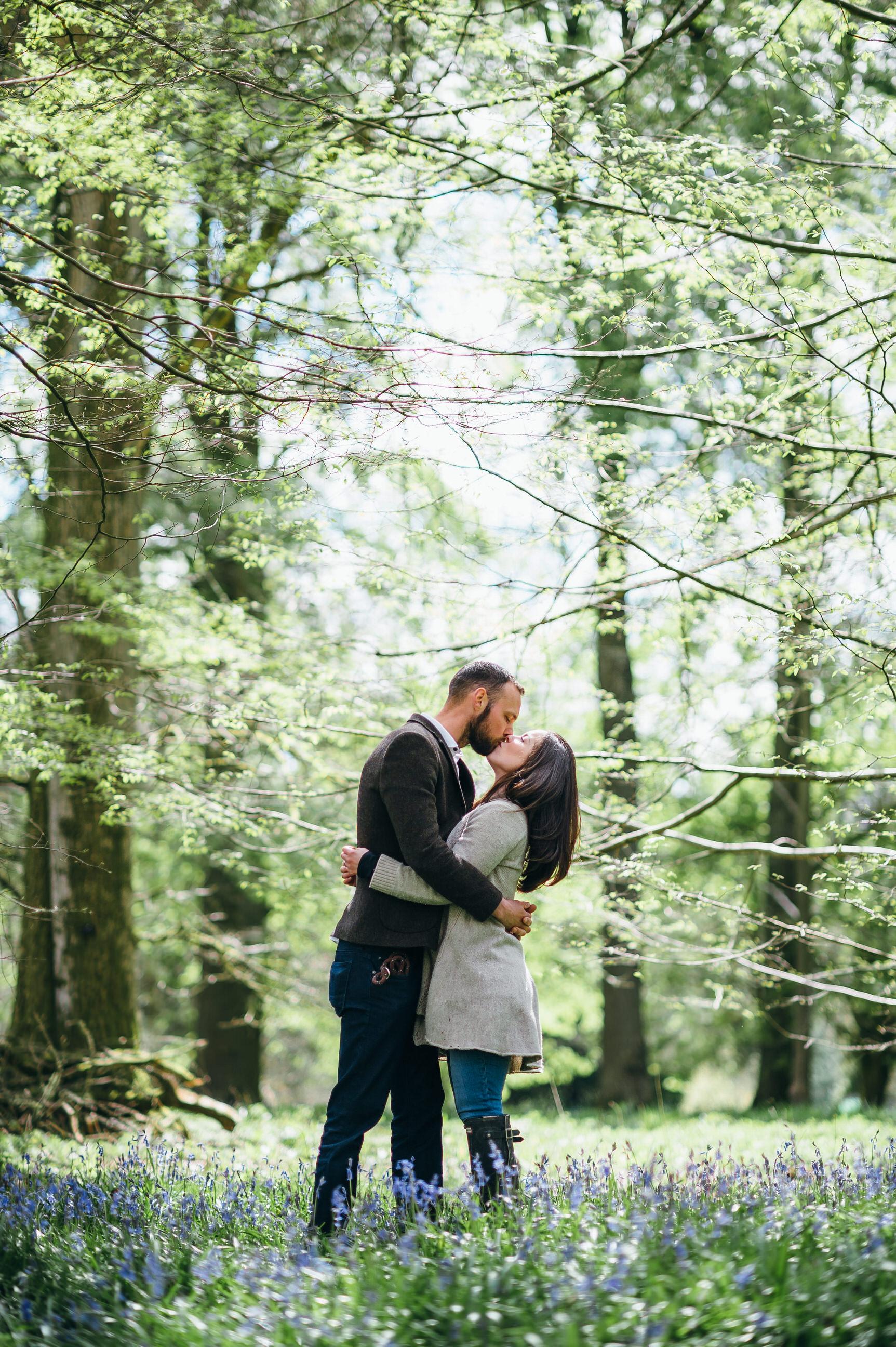 Engagement photography Westonbirt