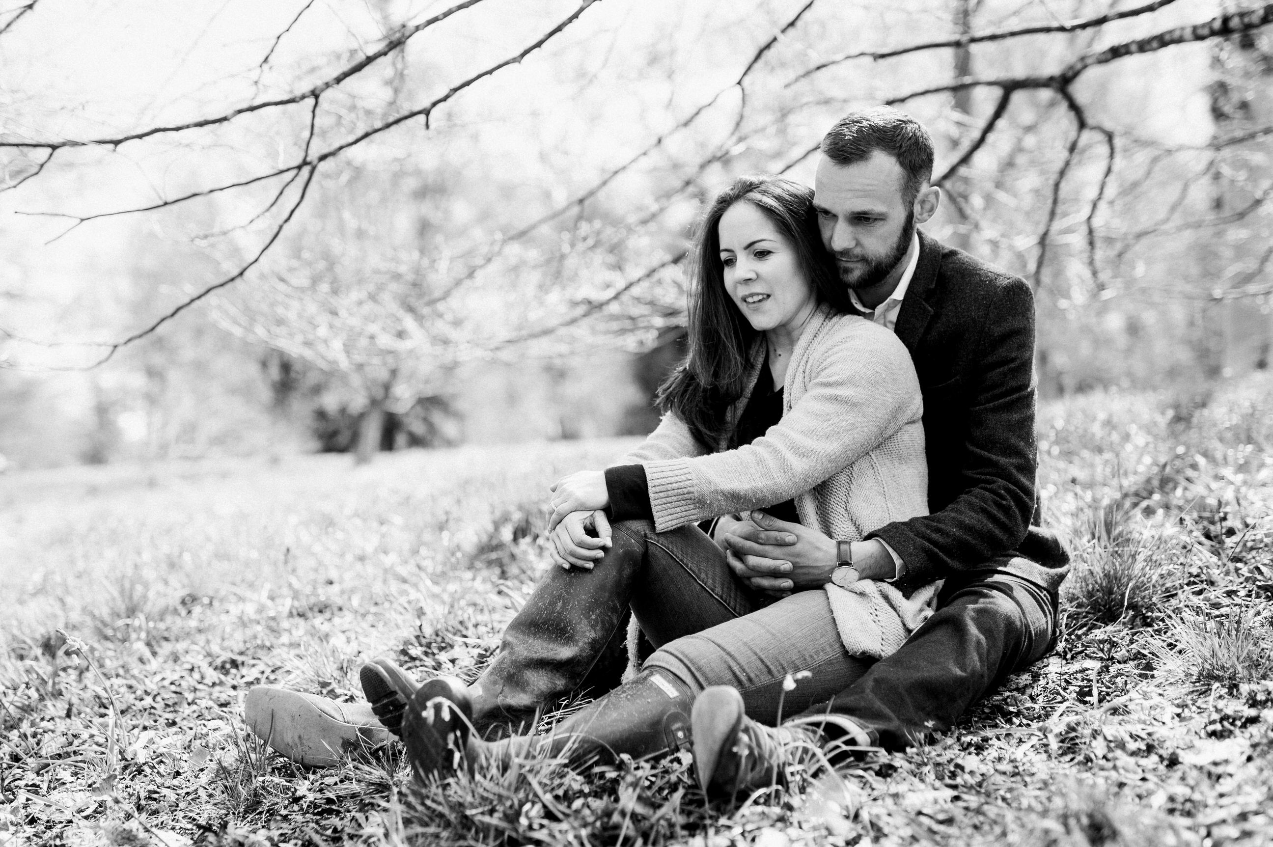 Couple at Westonbirt