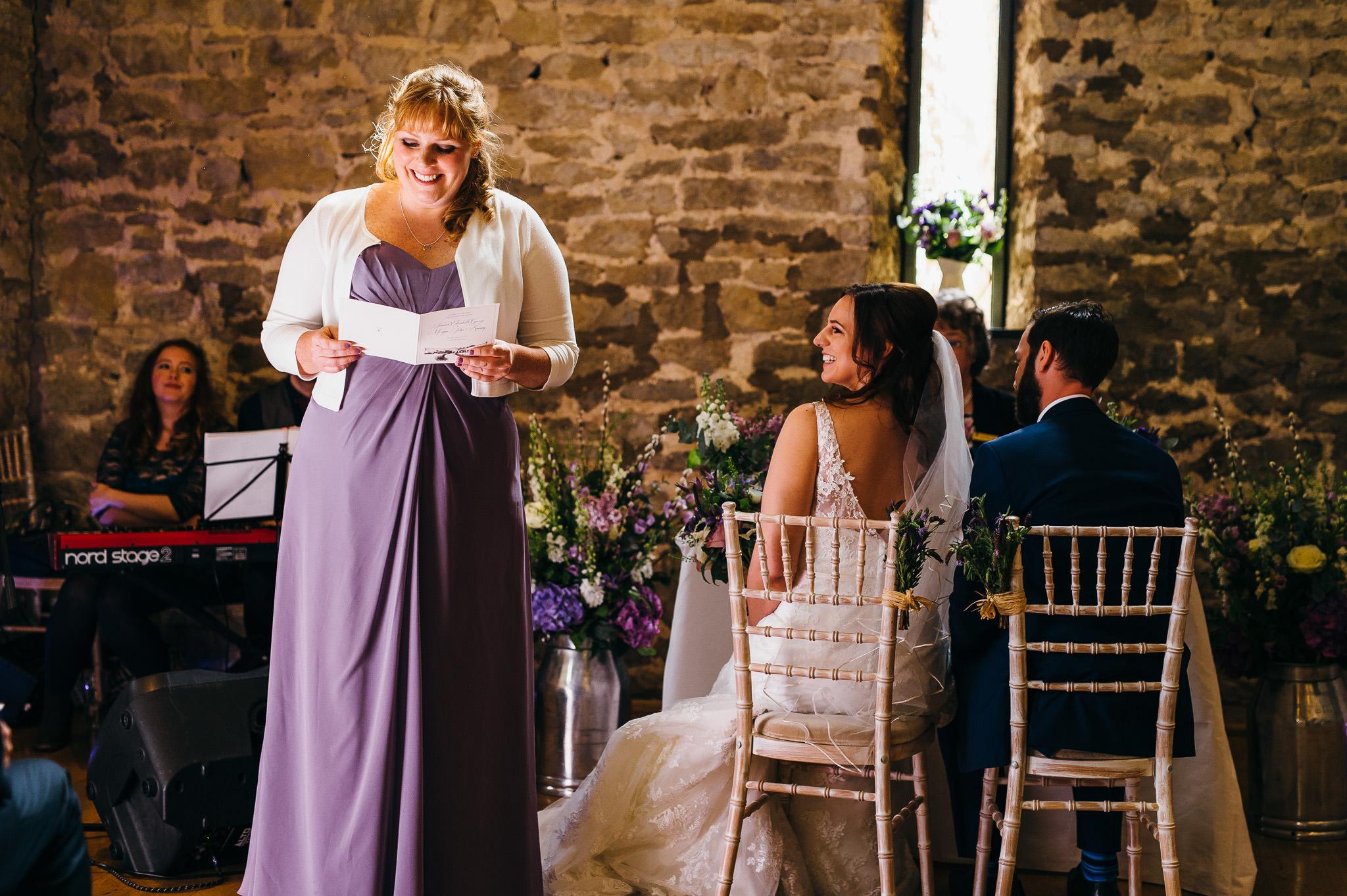 Priston Mill Wedding ceremony