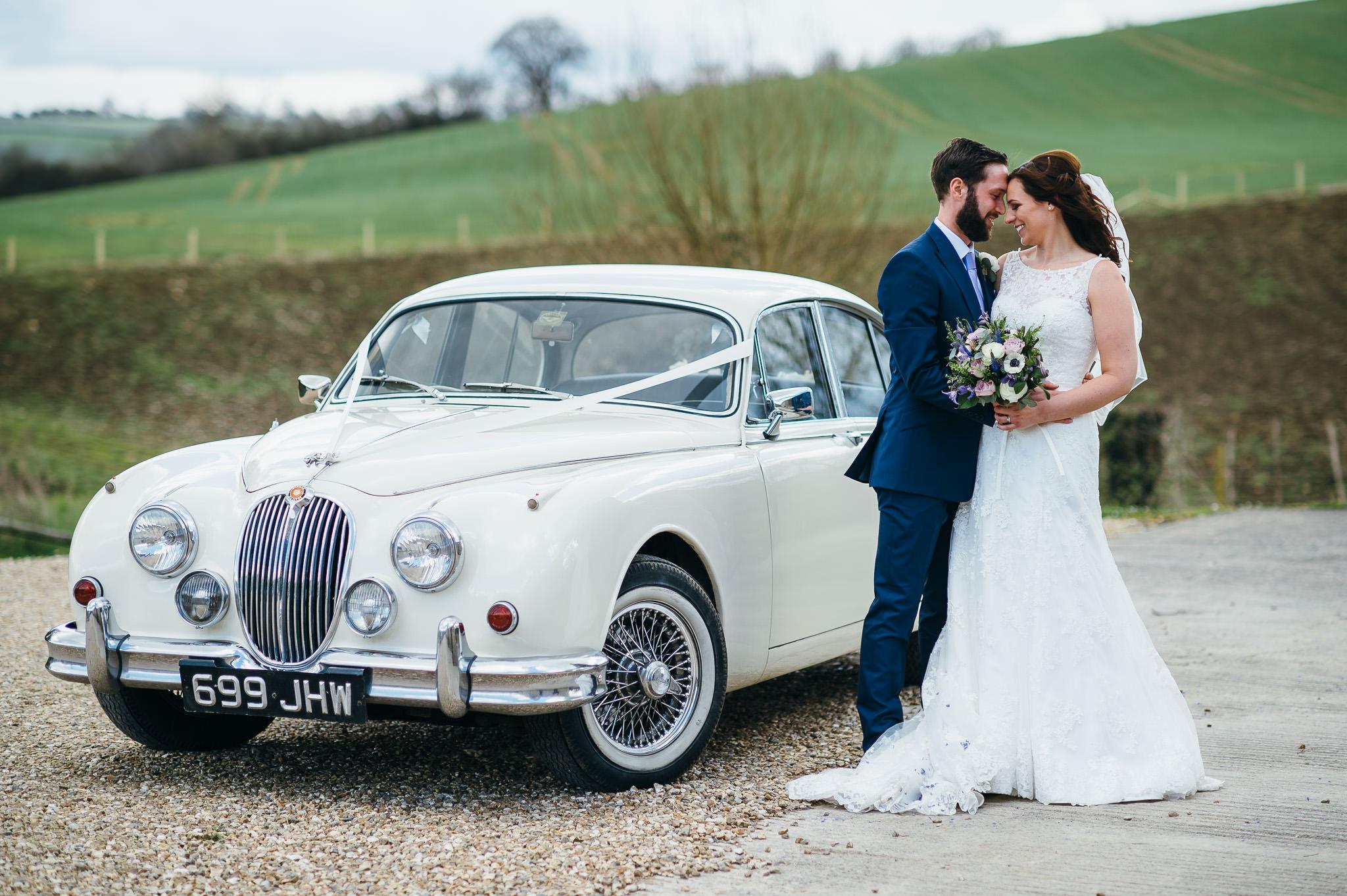 Priston Mill Wedding couple