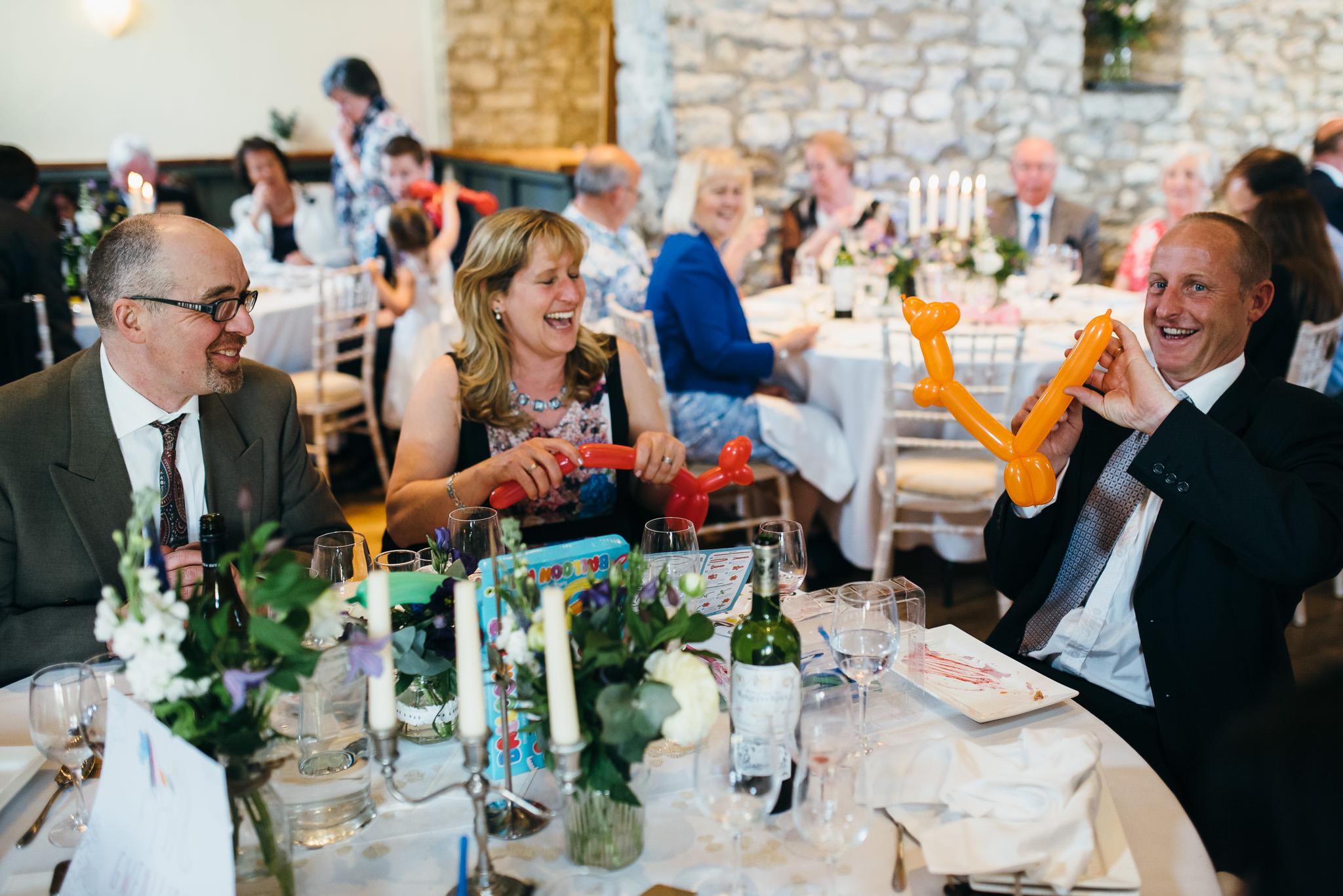 Priston Mill Wedding reception