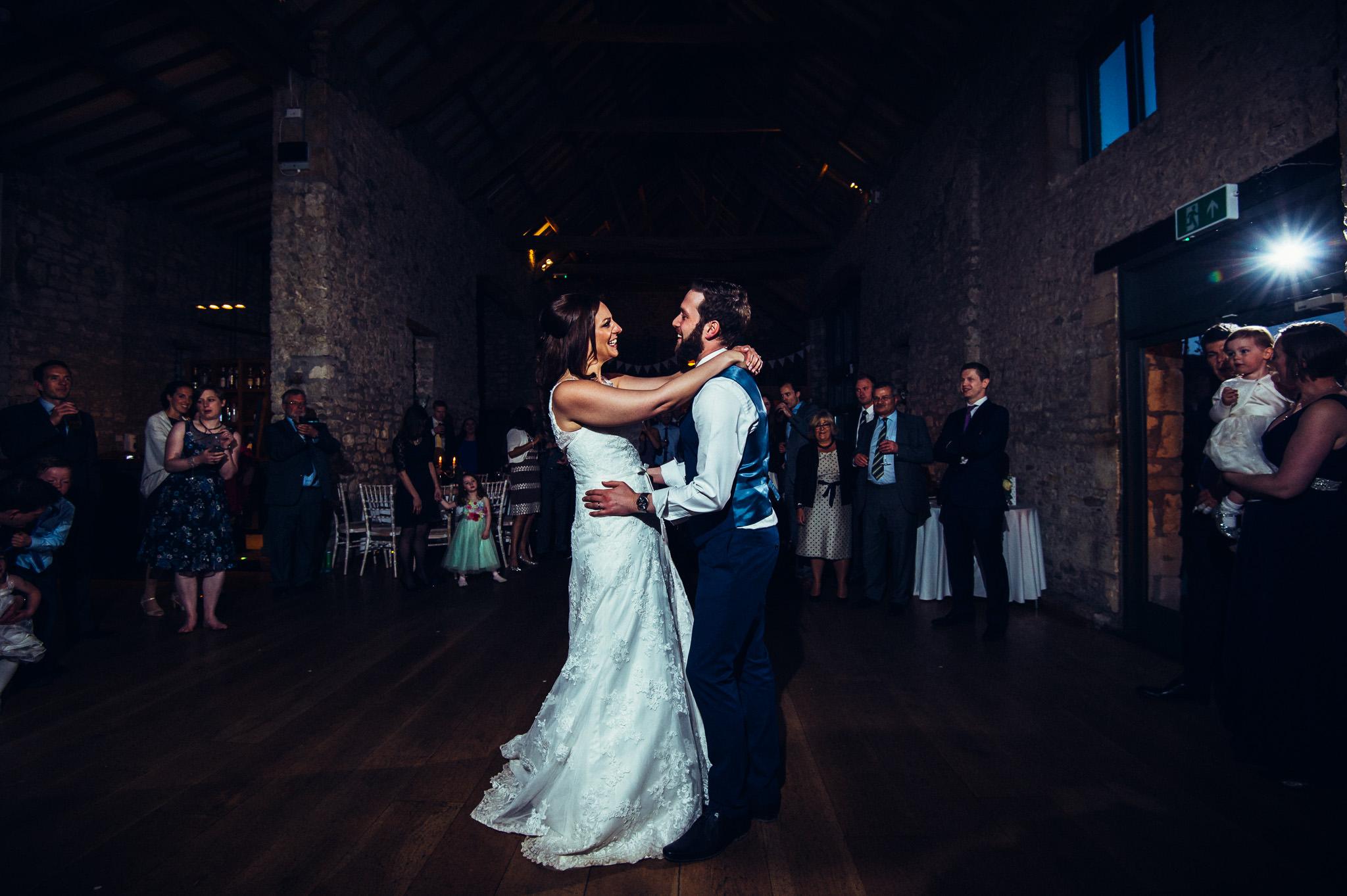 first dance wedding at Priston Mill