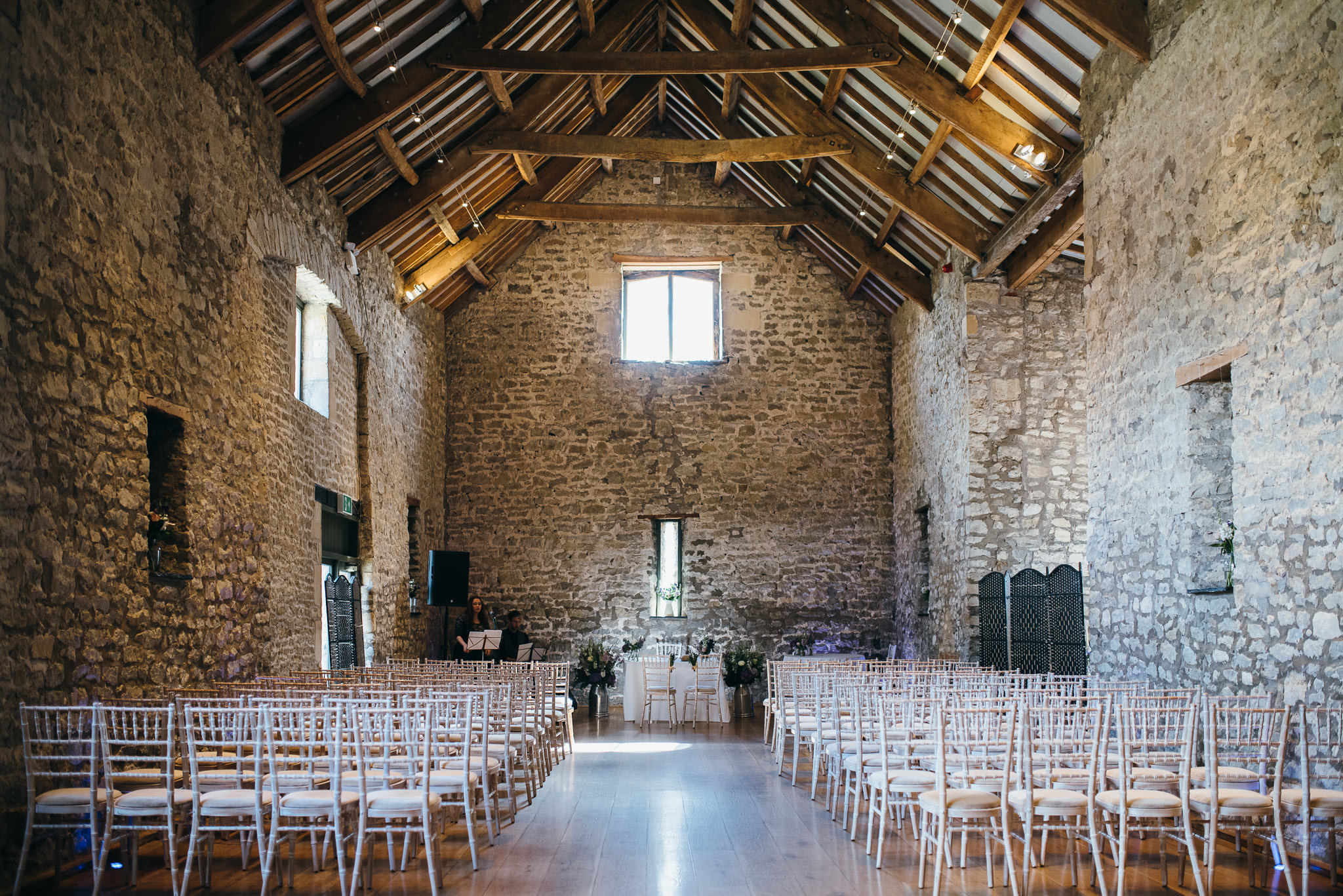 Priston Mill Wedding venue inside