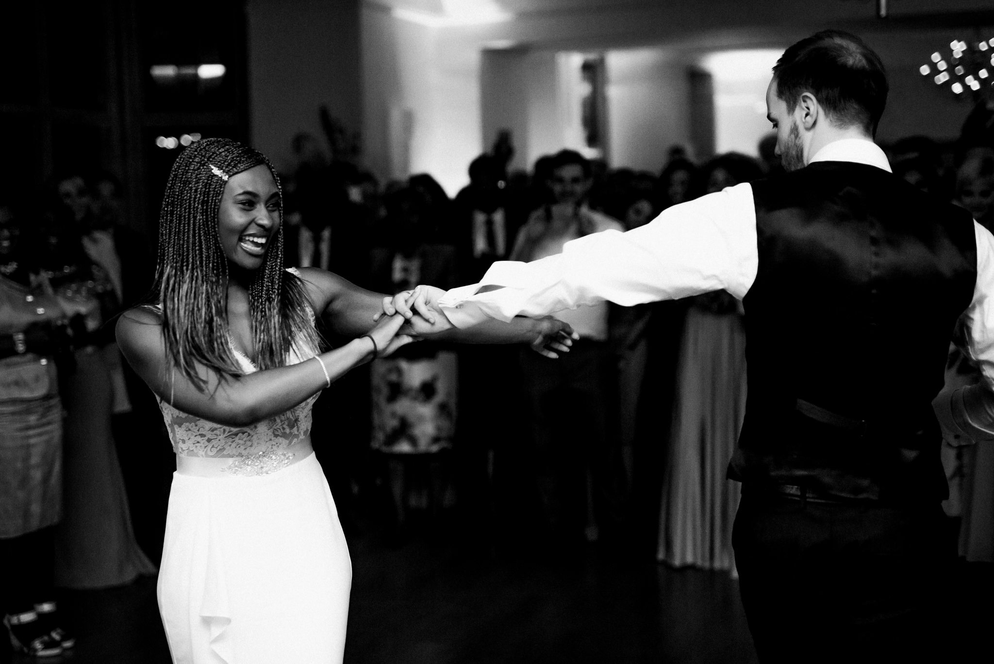 first dance at Coombe Lodge Blagdon