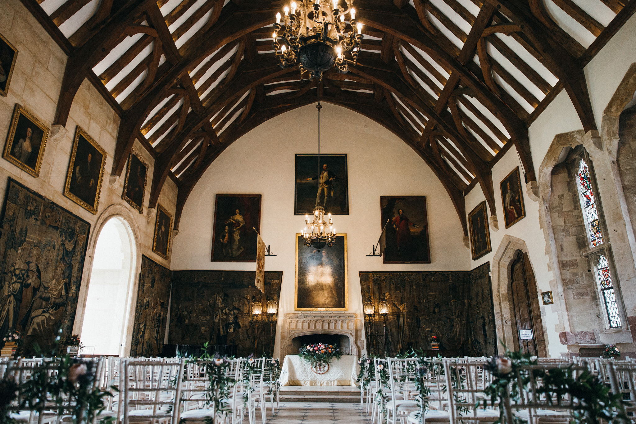 Berkeley Castle main hall