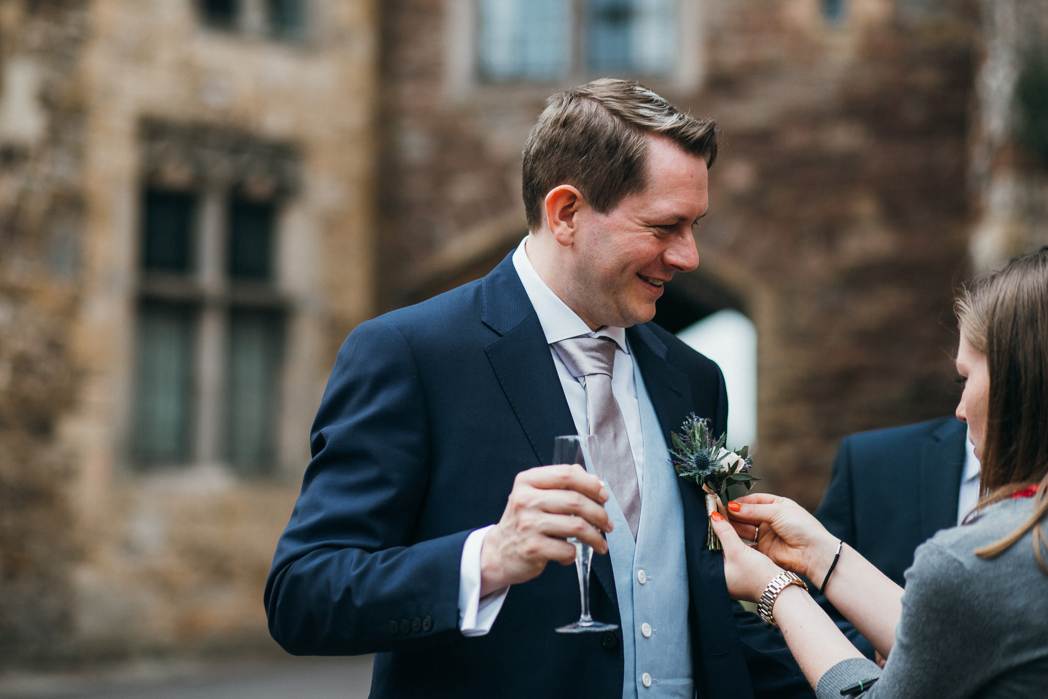 Berkeley Castle groom
