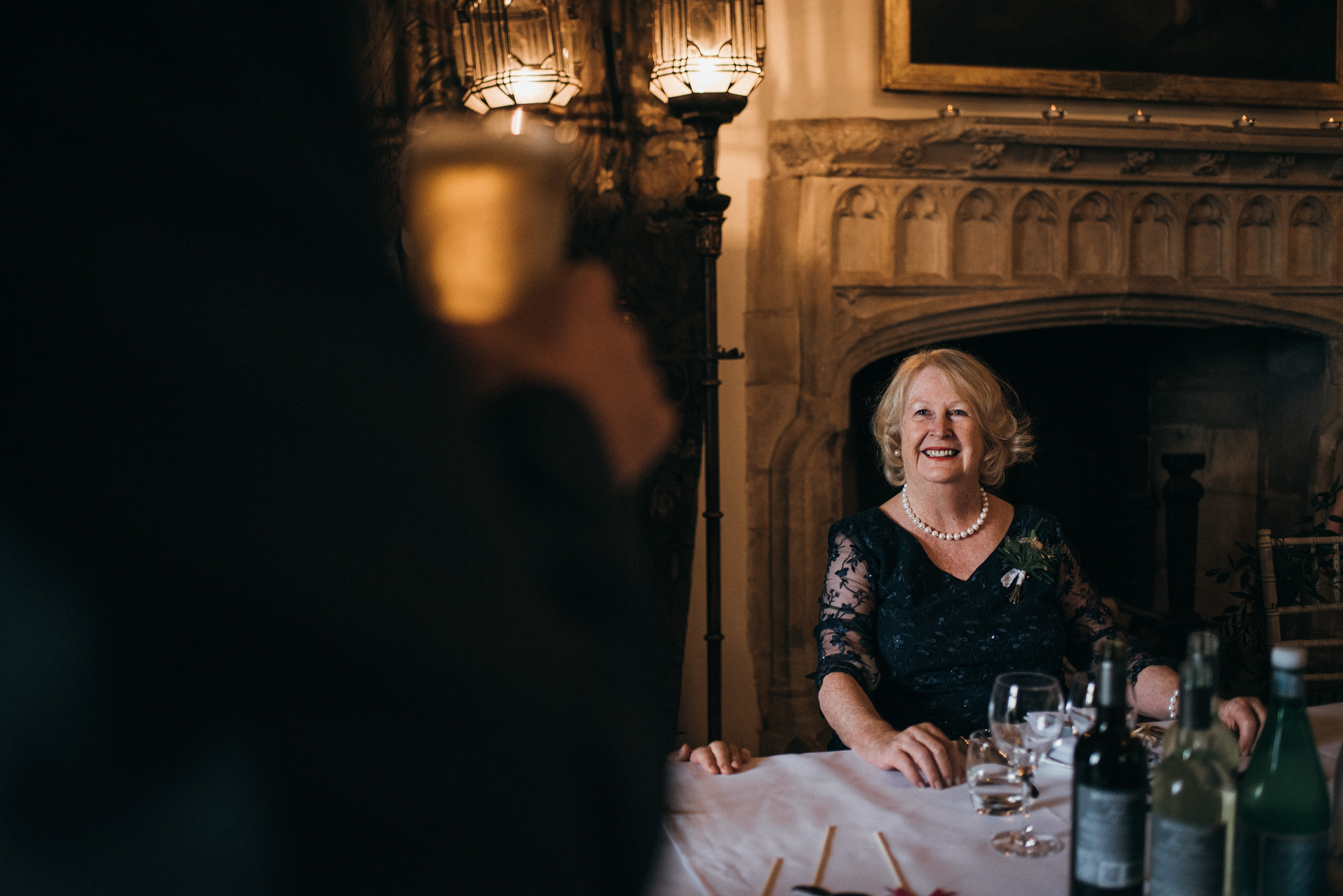 speeches at Berkeley Castle wedding