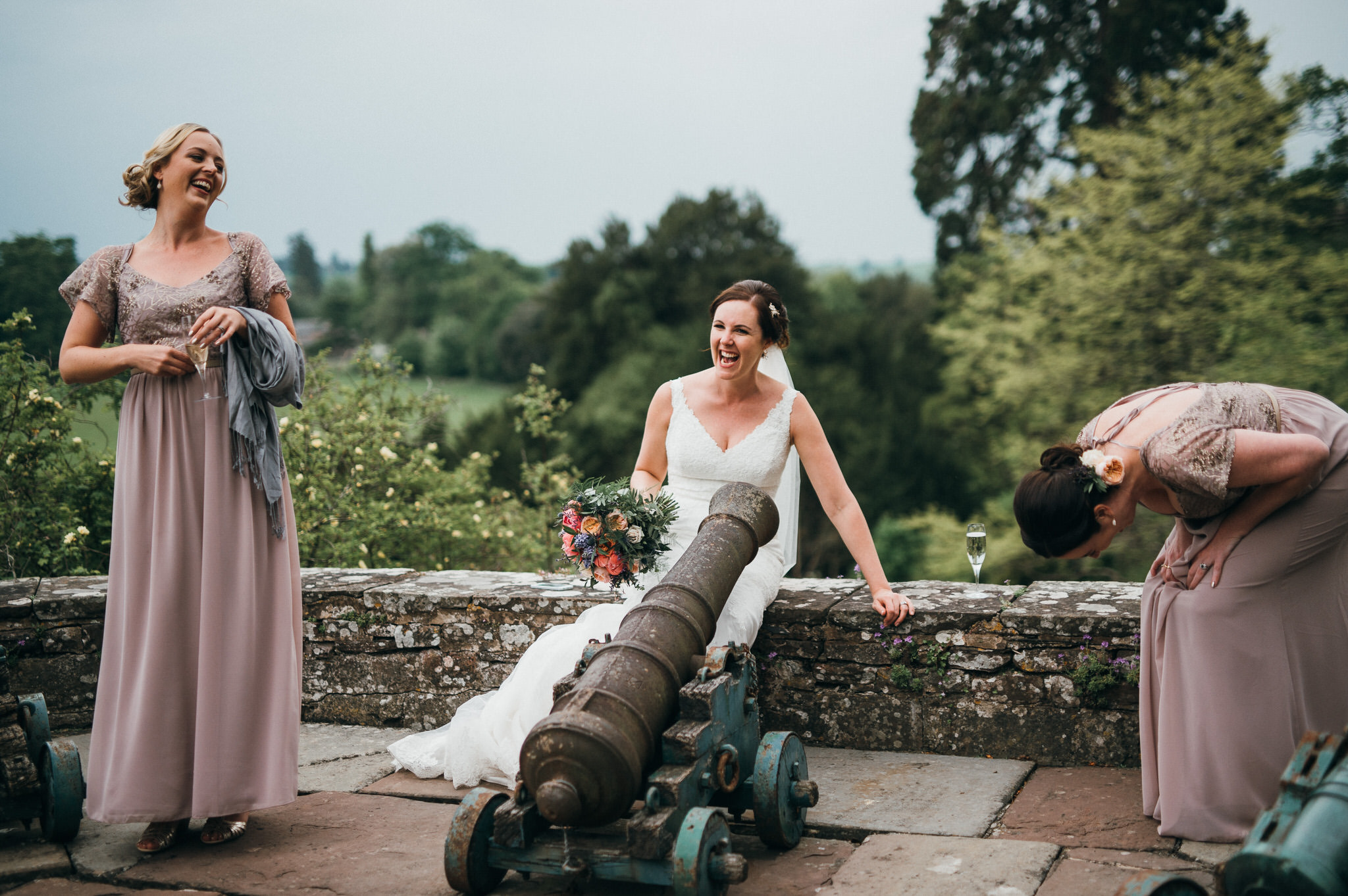 wedding photography Berkeley Castle