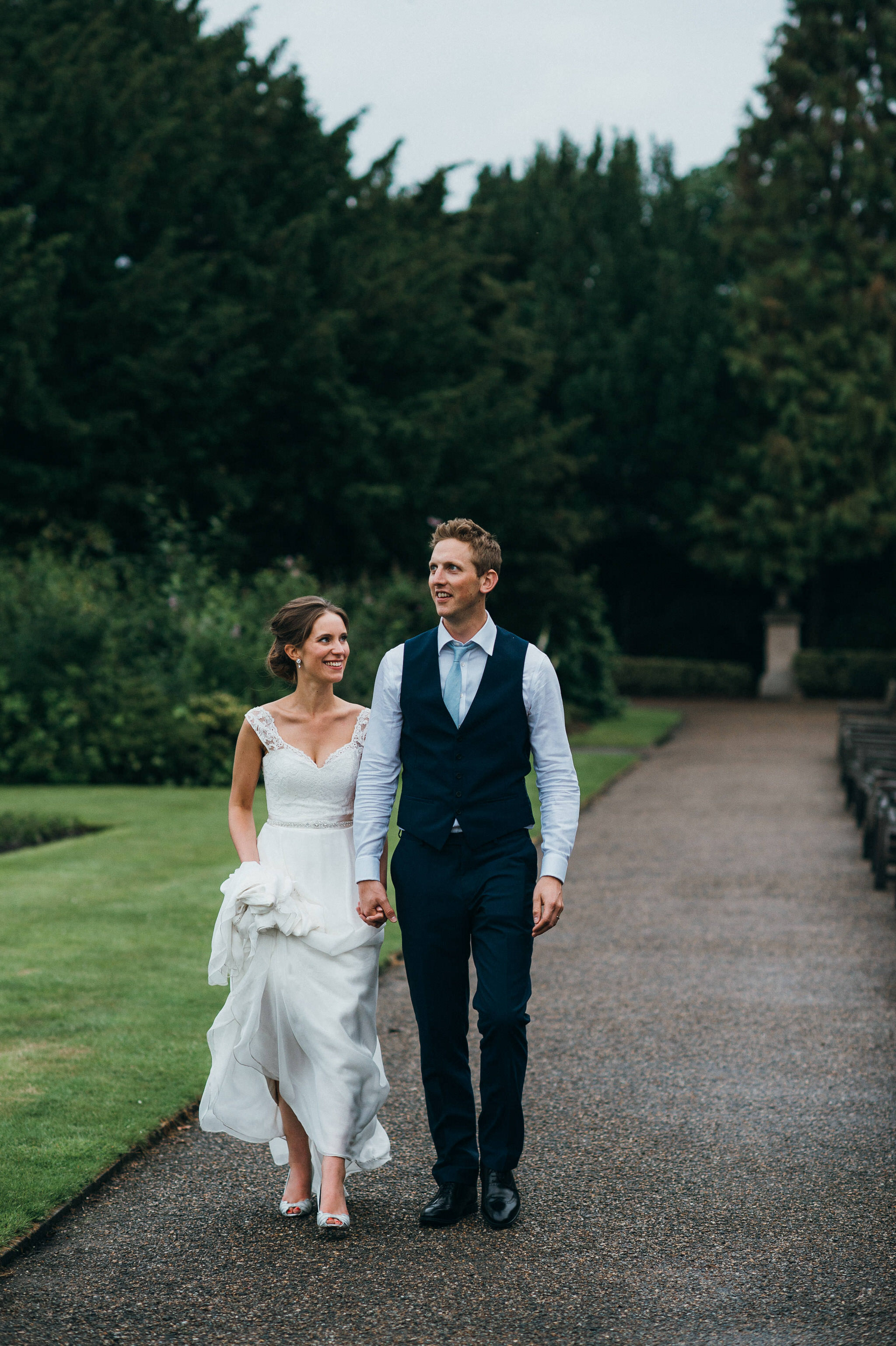 Newlyweds Nonsuch Mansion