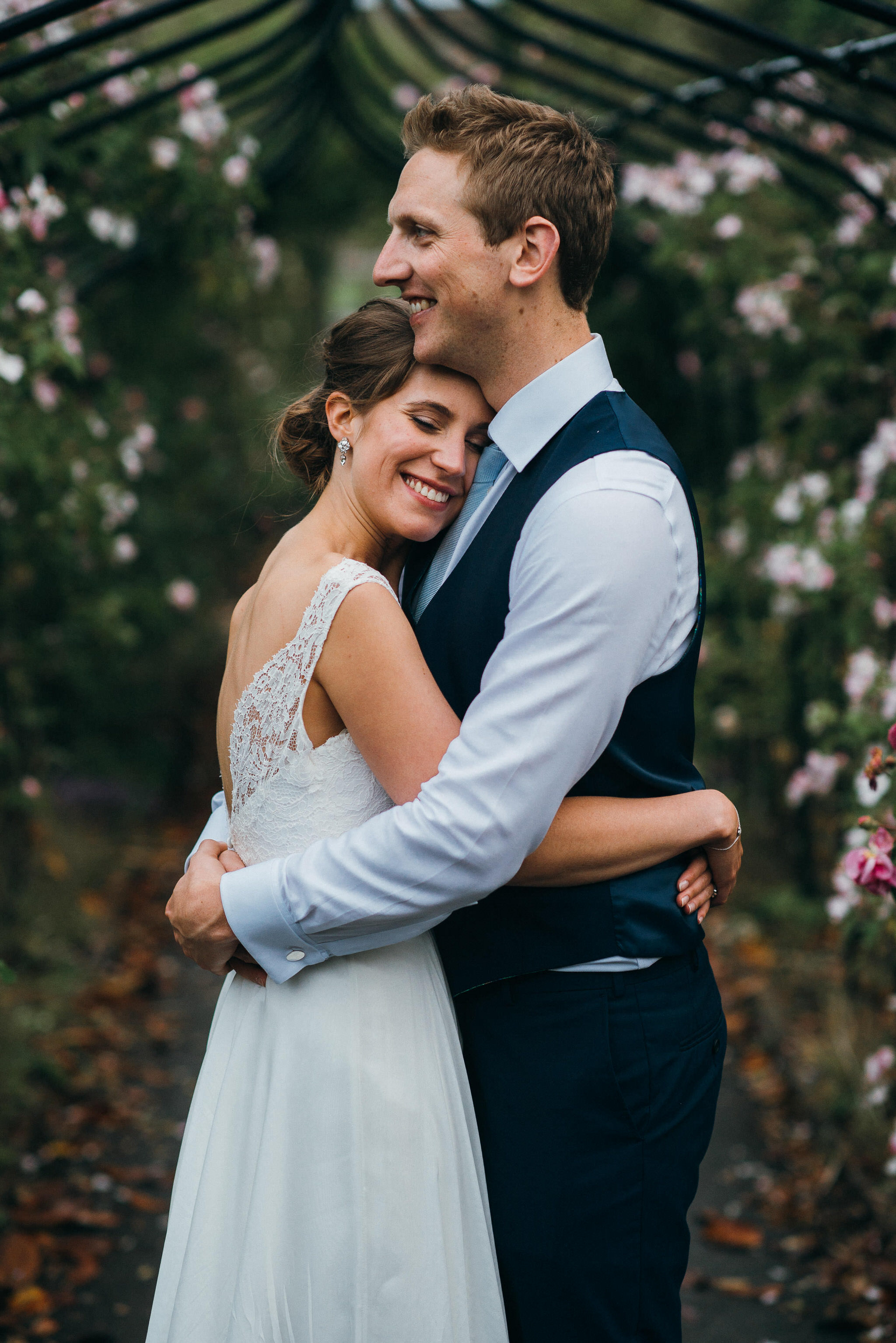 Newlyweds at Nonsuch Mansion