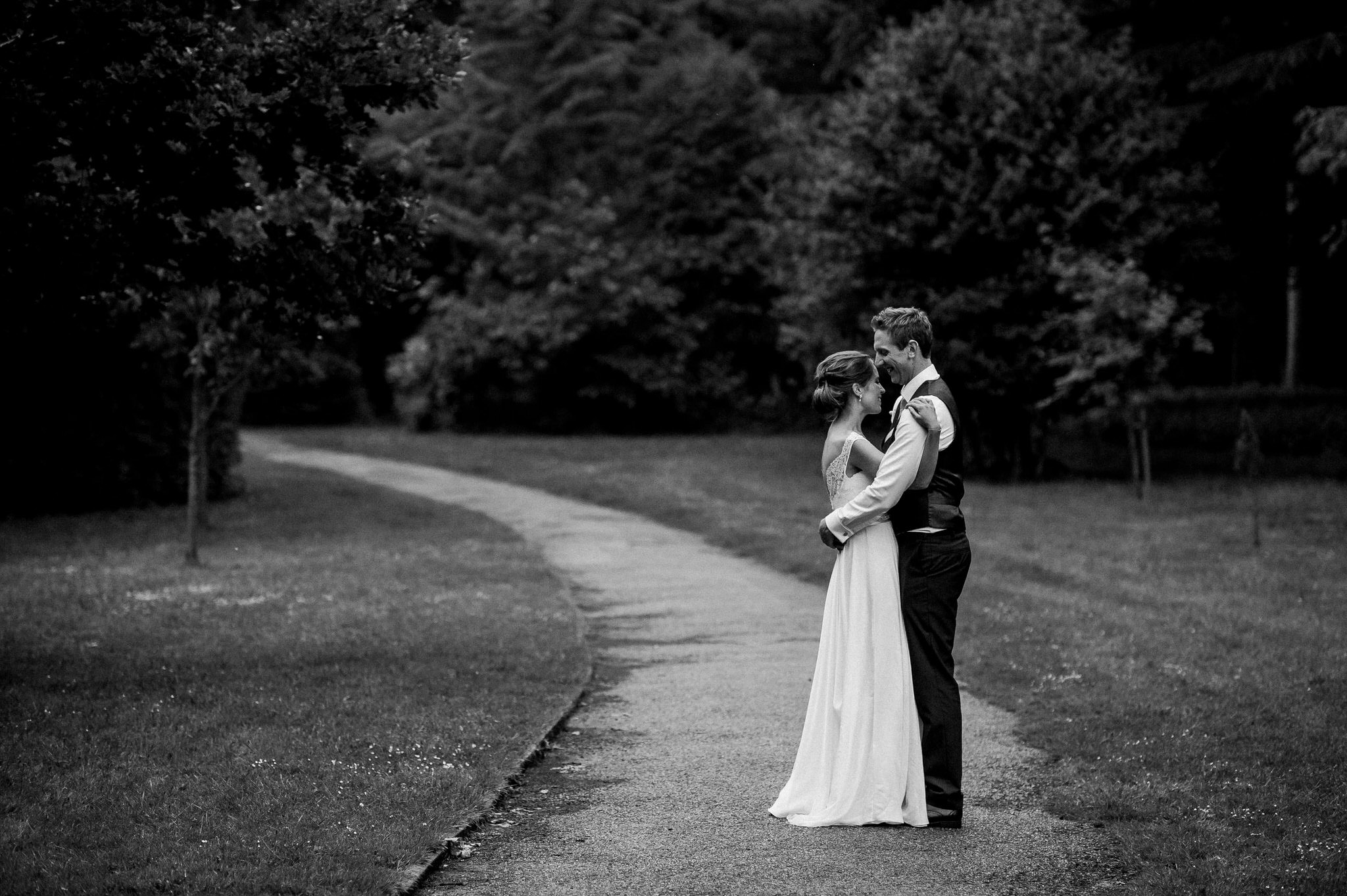 Couple at Nonsuch Mansion