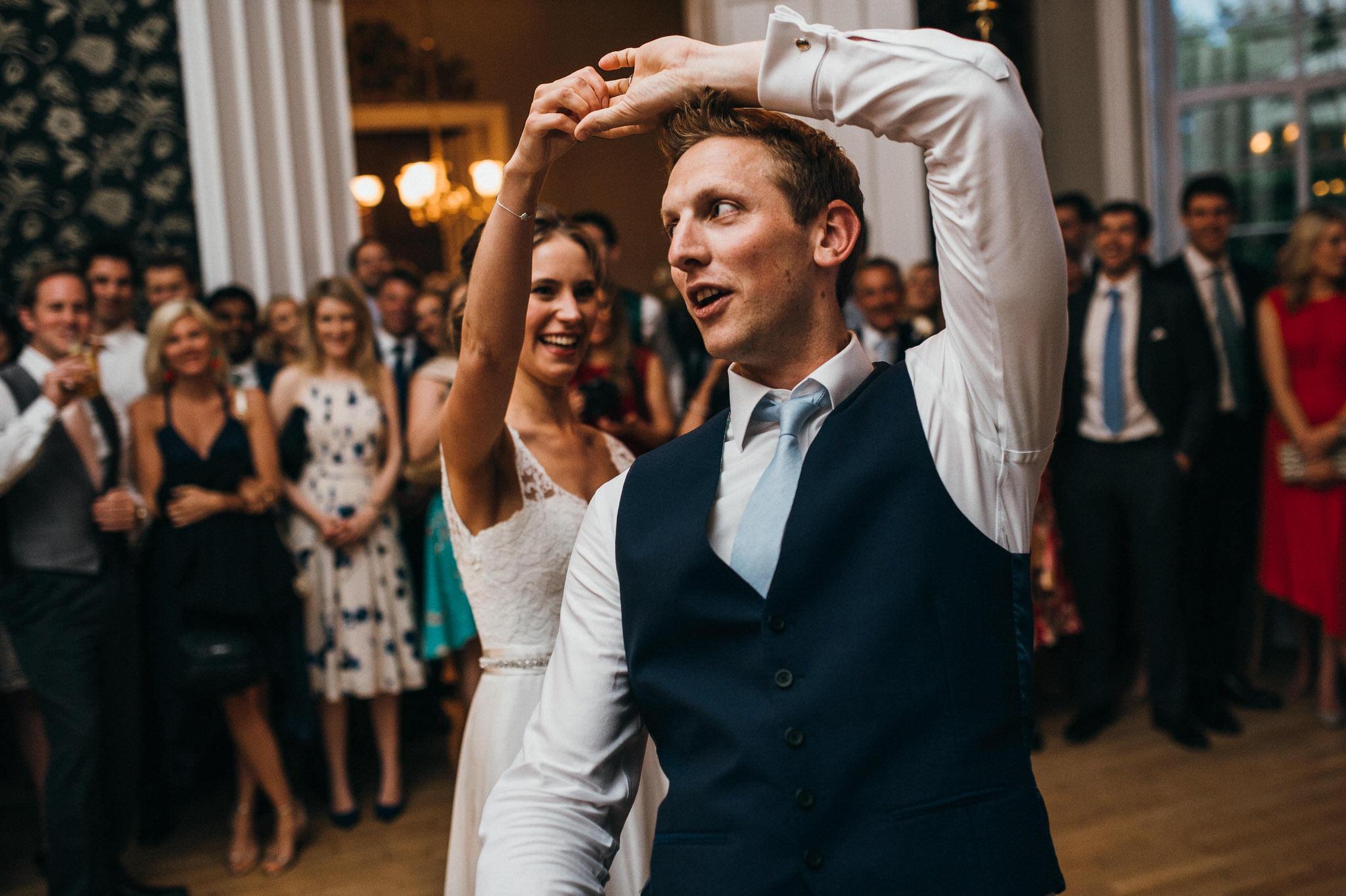 First dance Nonsuch Mansion wedding