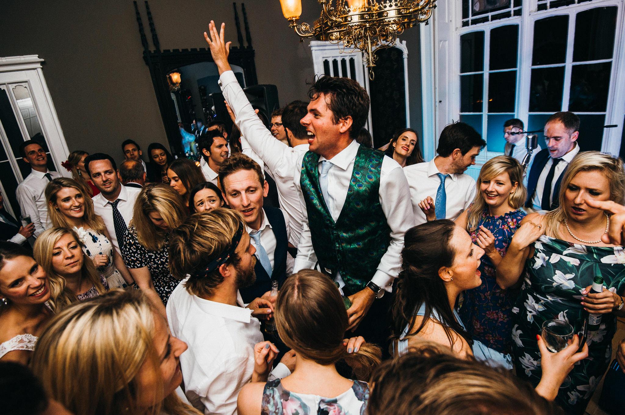dancefloor Nonsuch mansion wedding