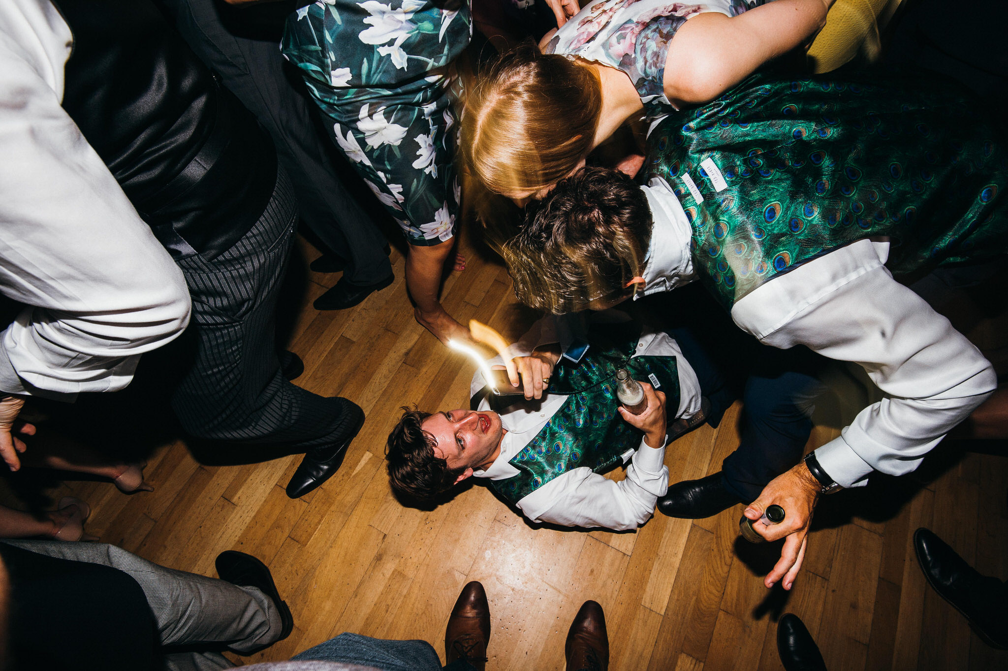Fun at Nonsuch mansion wedding