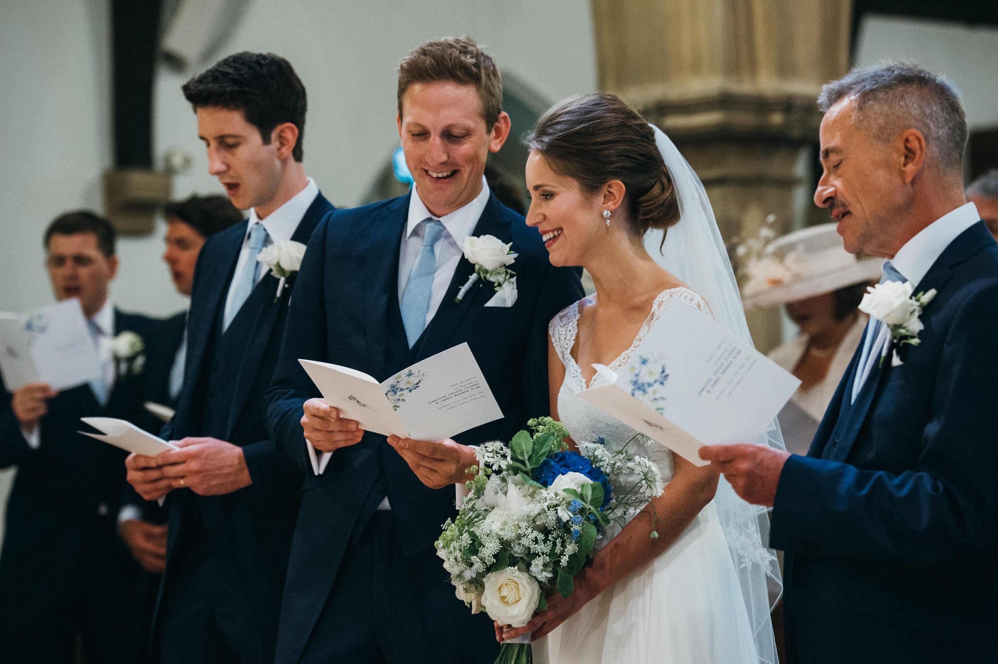 Christ Church Wimbledon wedding