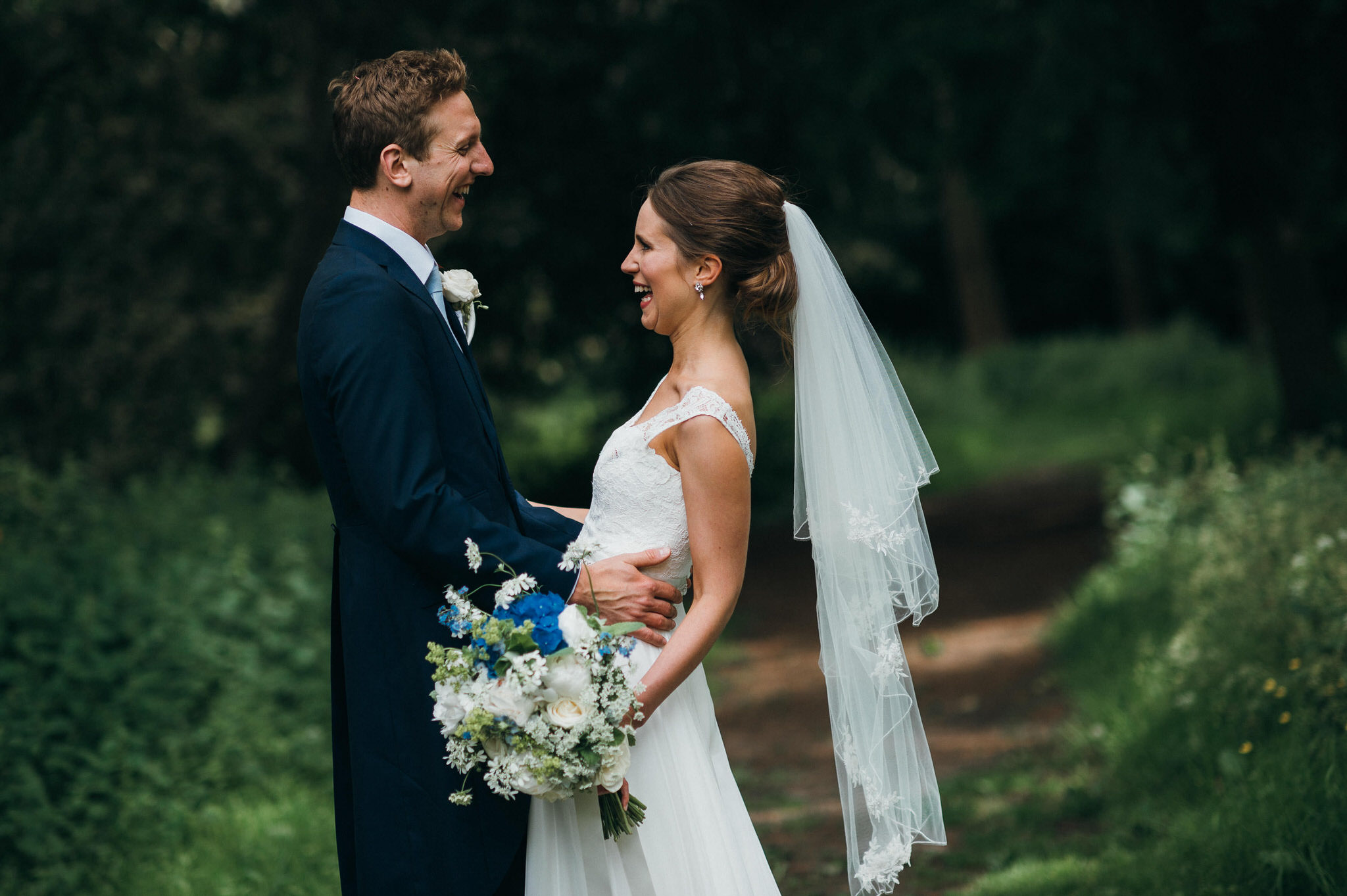 Unposed wedding photography nonsuch mansion