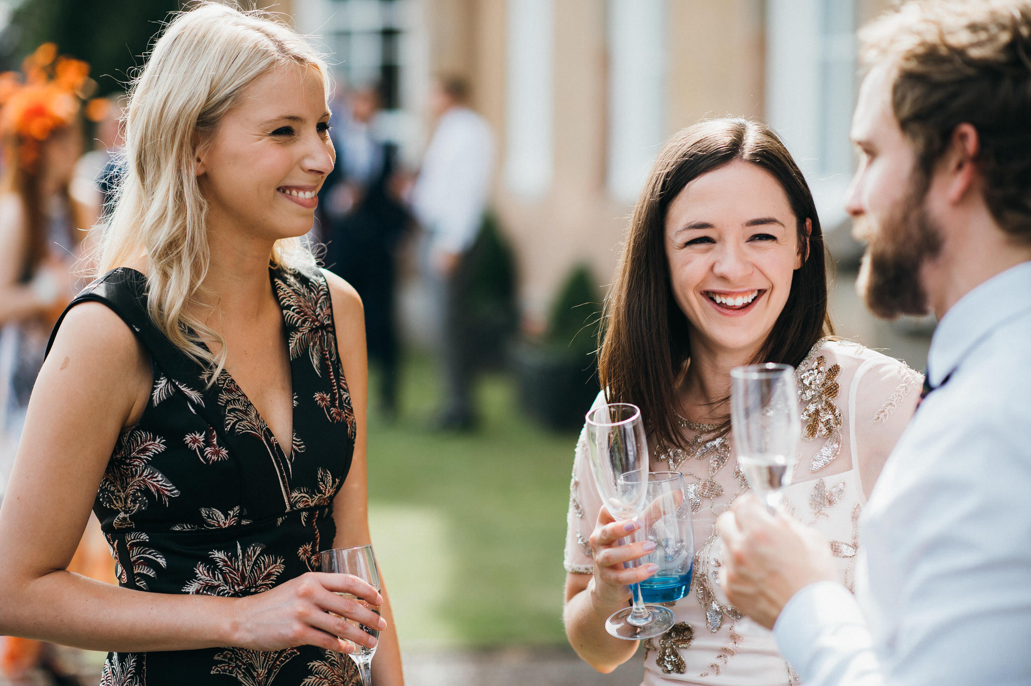 Documentary photography Nonsuch Mansion wedding