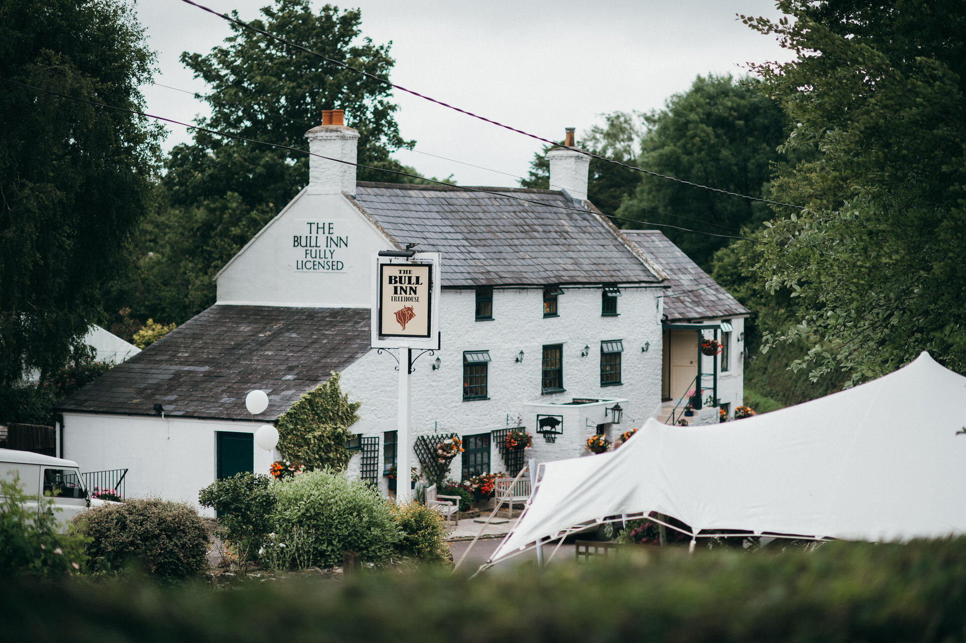 Wedding Photography at the Bull Inn, Somerset