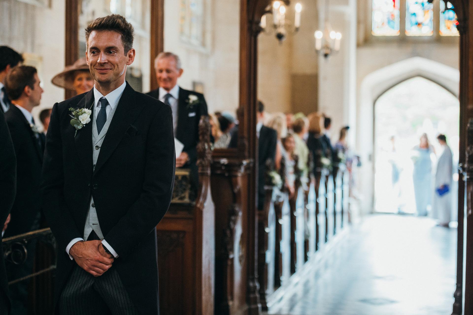 Sudeley castle church wedding