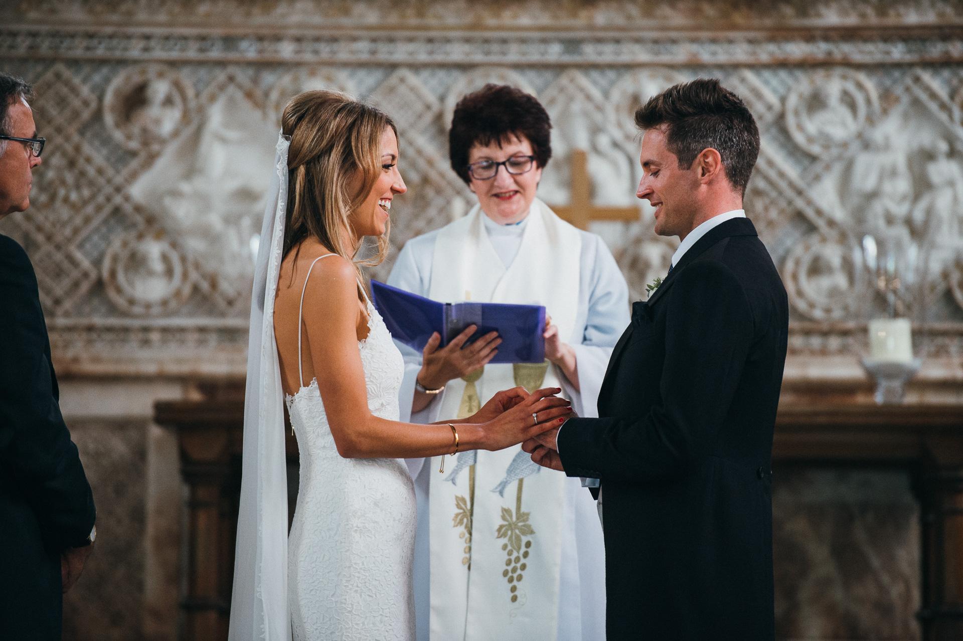Sudeley castle church wedding photographer