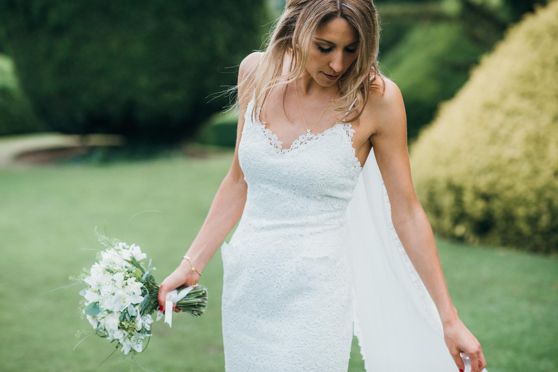Birde at Sudeley castle wedding