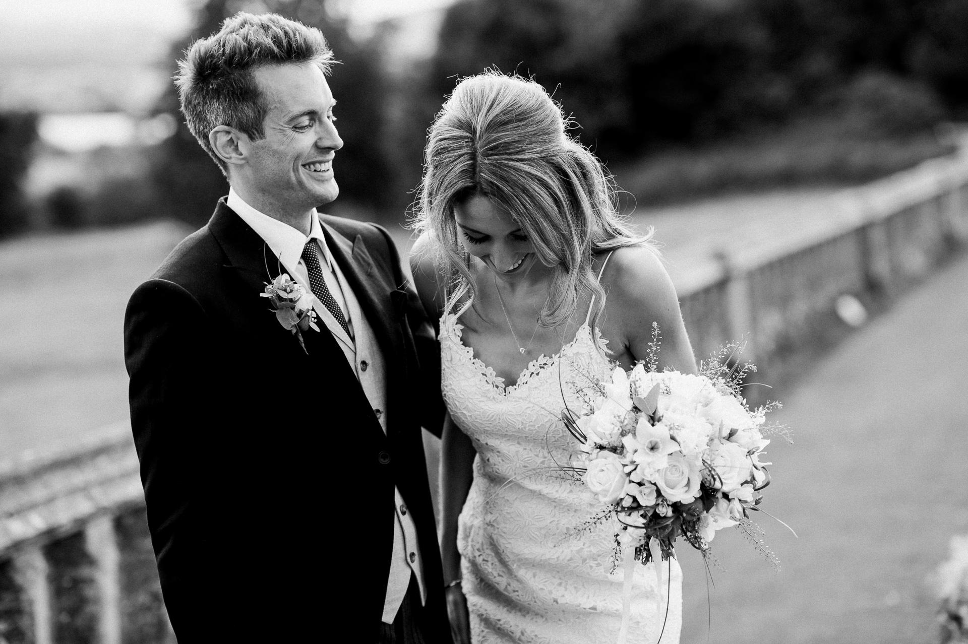 Bride and groom Sudeley castle wedding photography