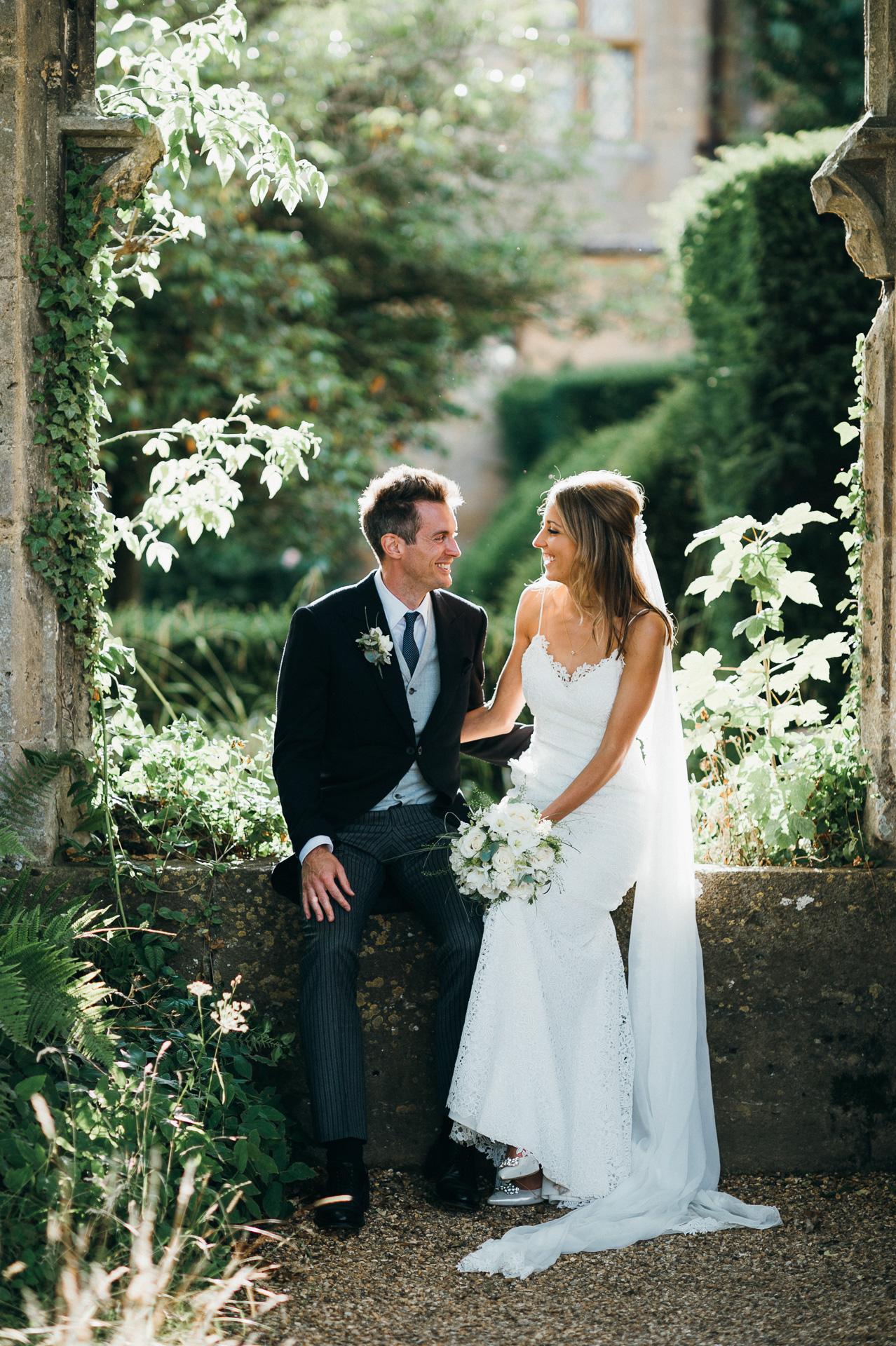 Unposed Sudeley castle wedding photography